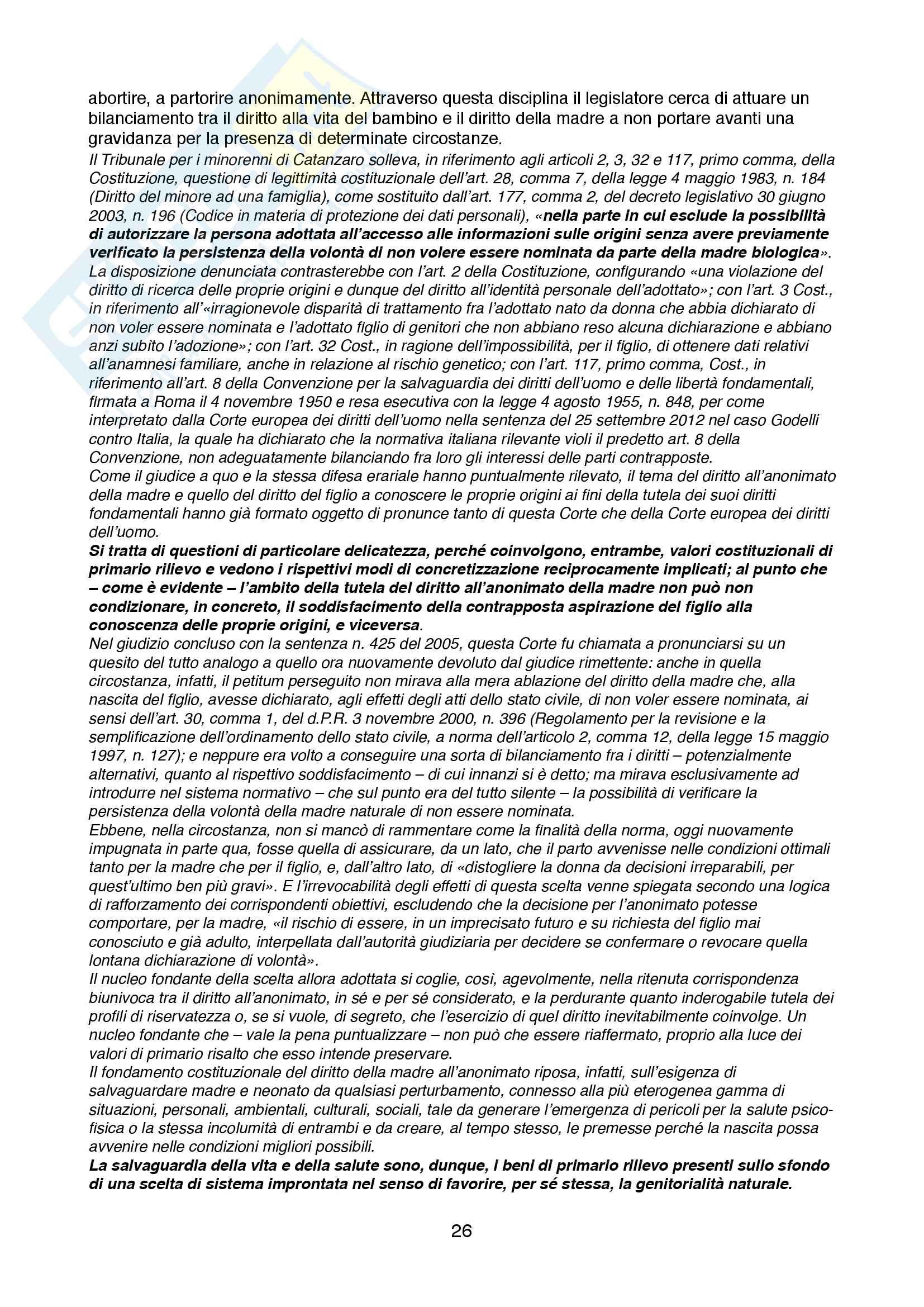 Appunti di Diritto Costituzionale II Pag. 26