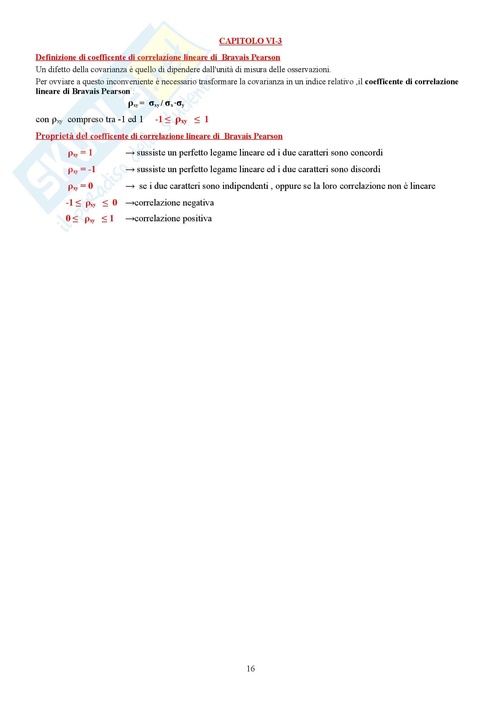 Riassunto esame Statistica, prof. Laureti Pag. 16