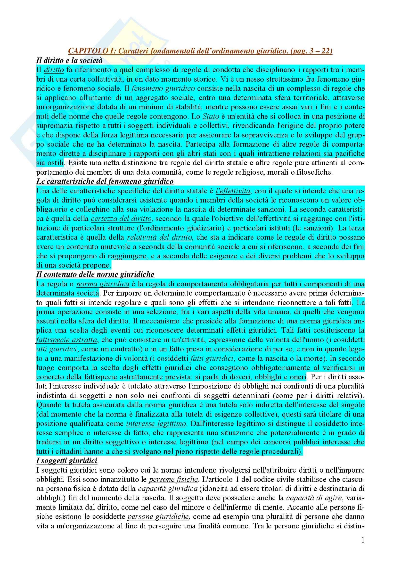appunto P. Carnevale Istituzioni di Diritto Pubblico