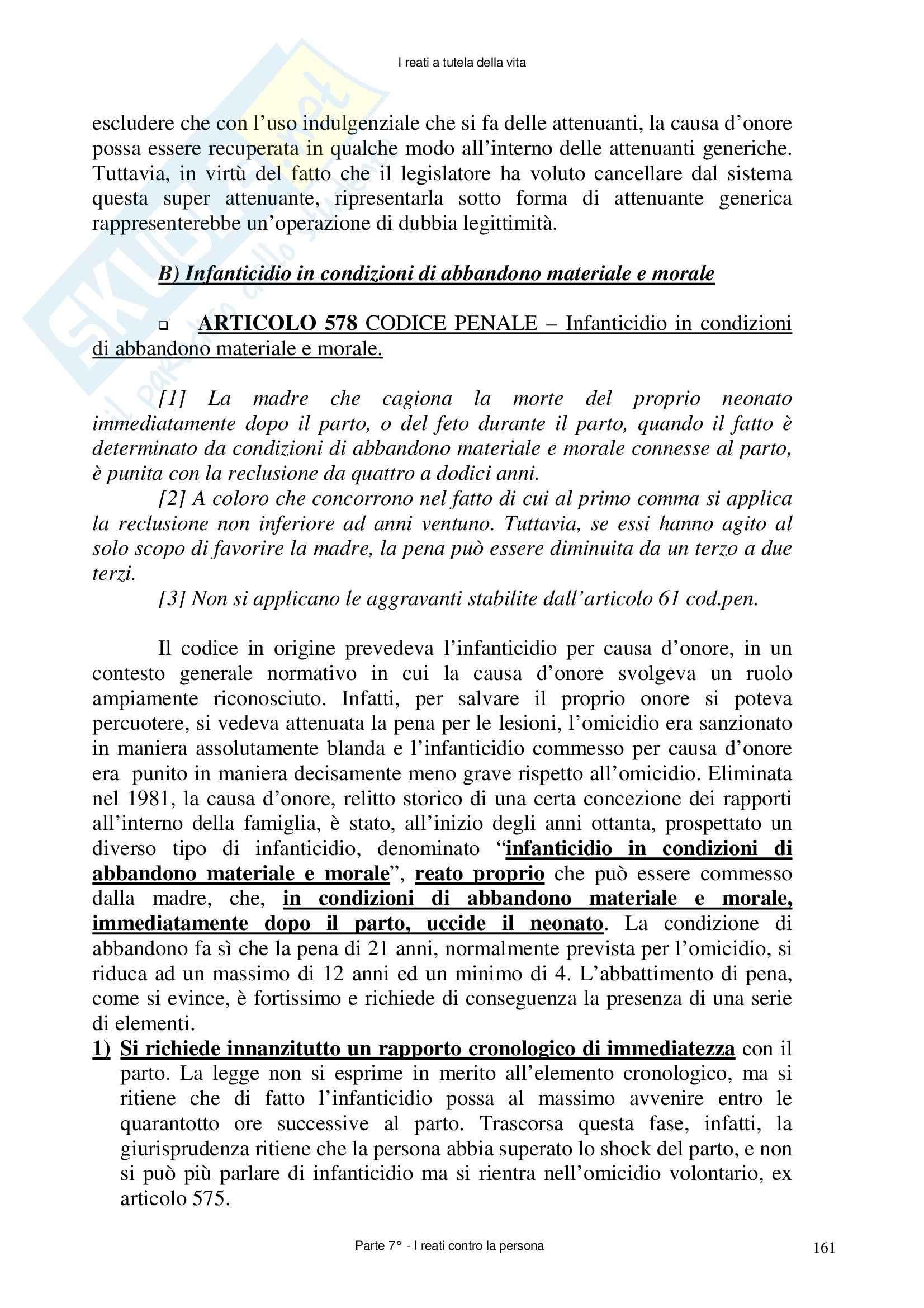 Diritto penale - delitti contro la persona Pag. 26
