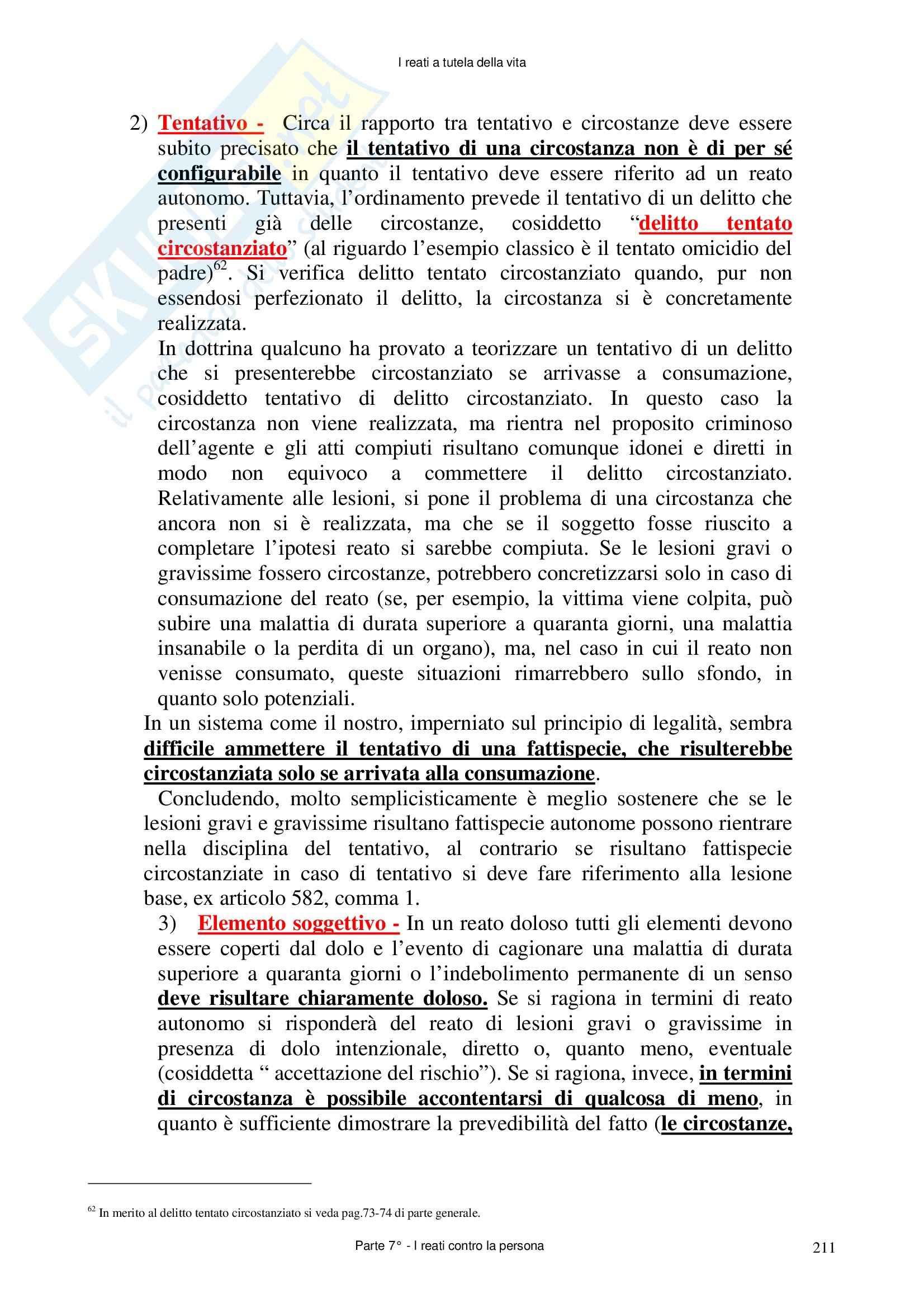 Diritto penale - delitti contro la persona Pag. 76