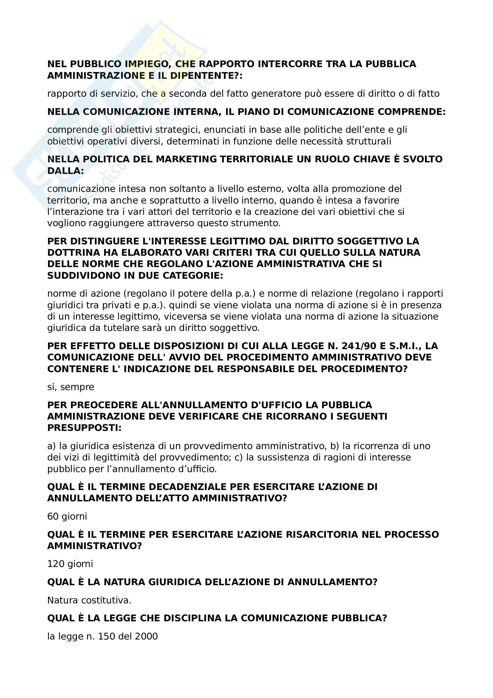 Diritto Amministrativo Pag. 6