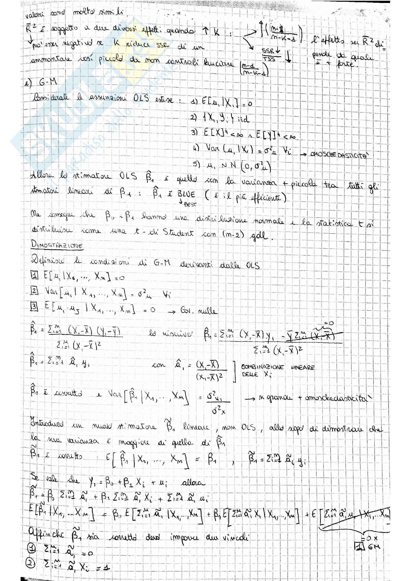 Temi esame Econometria Pag. 11