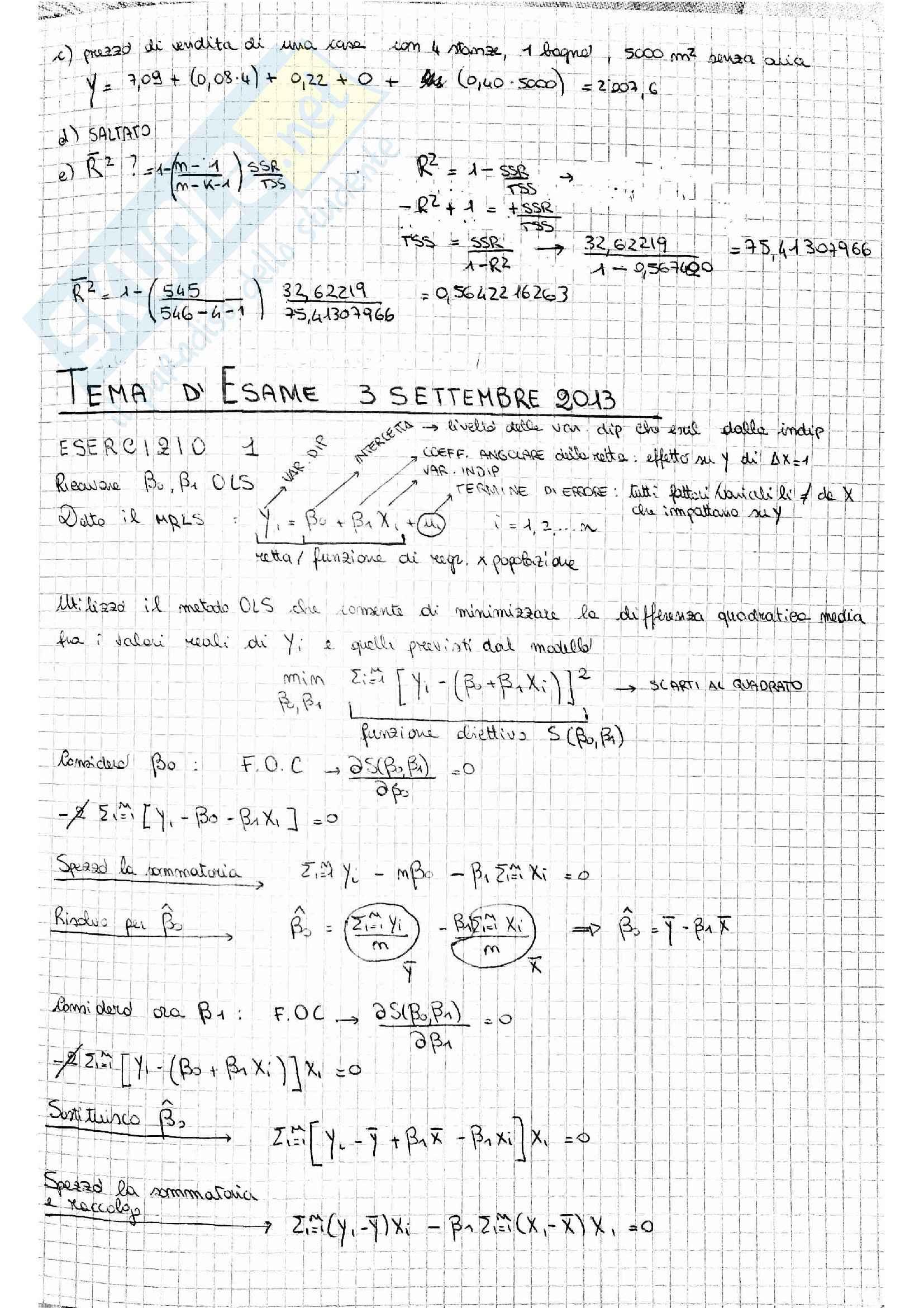 Temi esame Econometria Pag. 16
