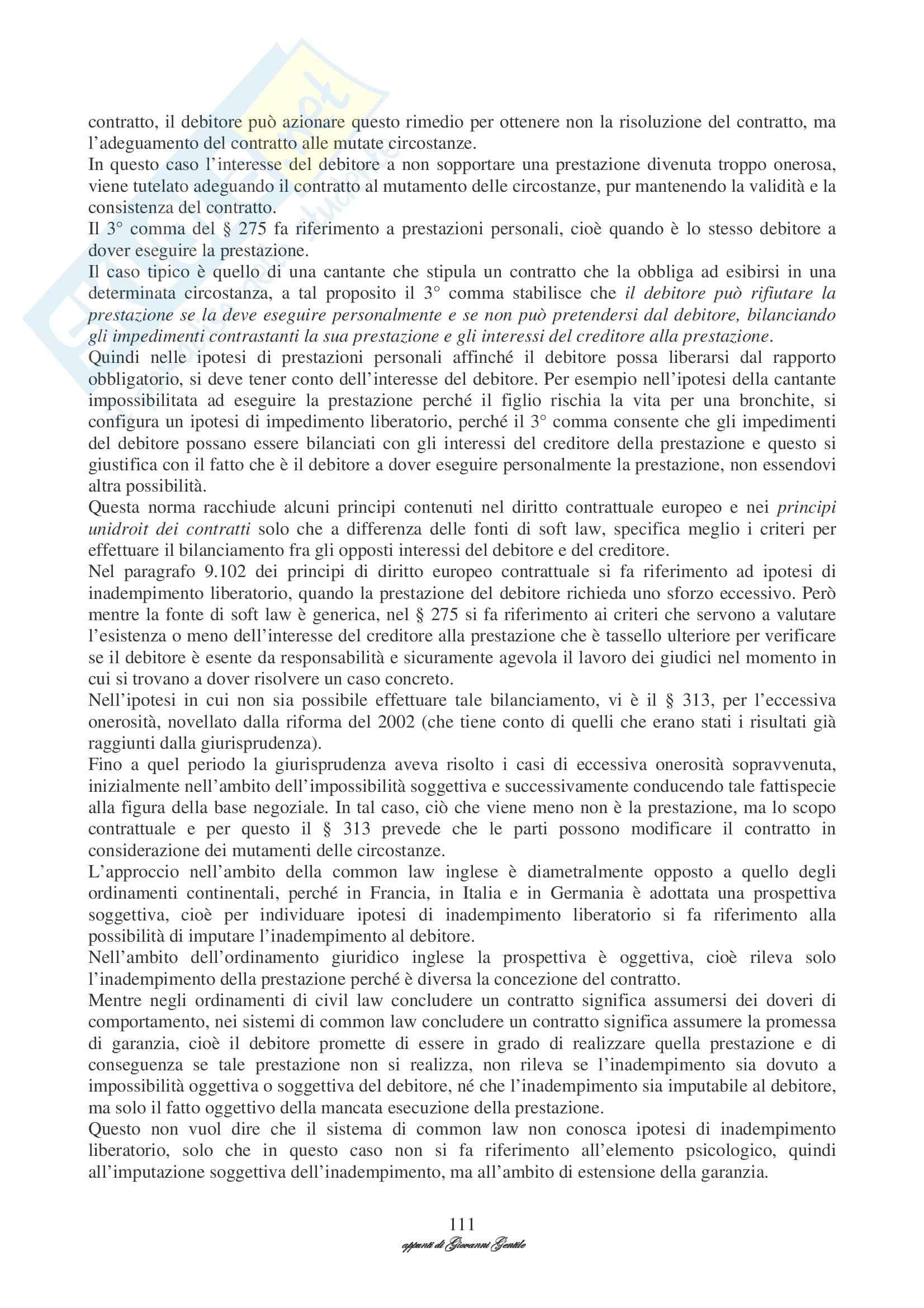 Diritto privato comparato Pag. 111