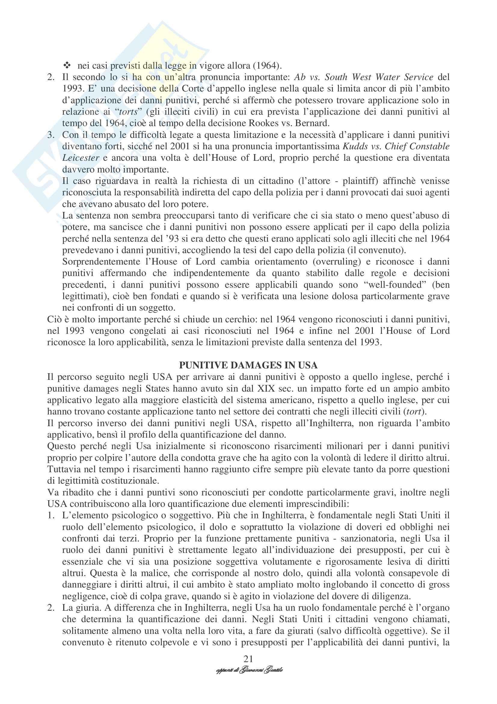 Diritto privato comparato Pag. 21