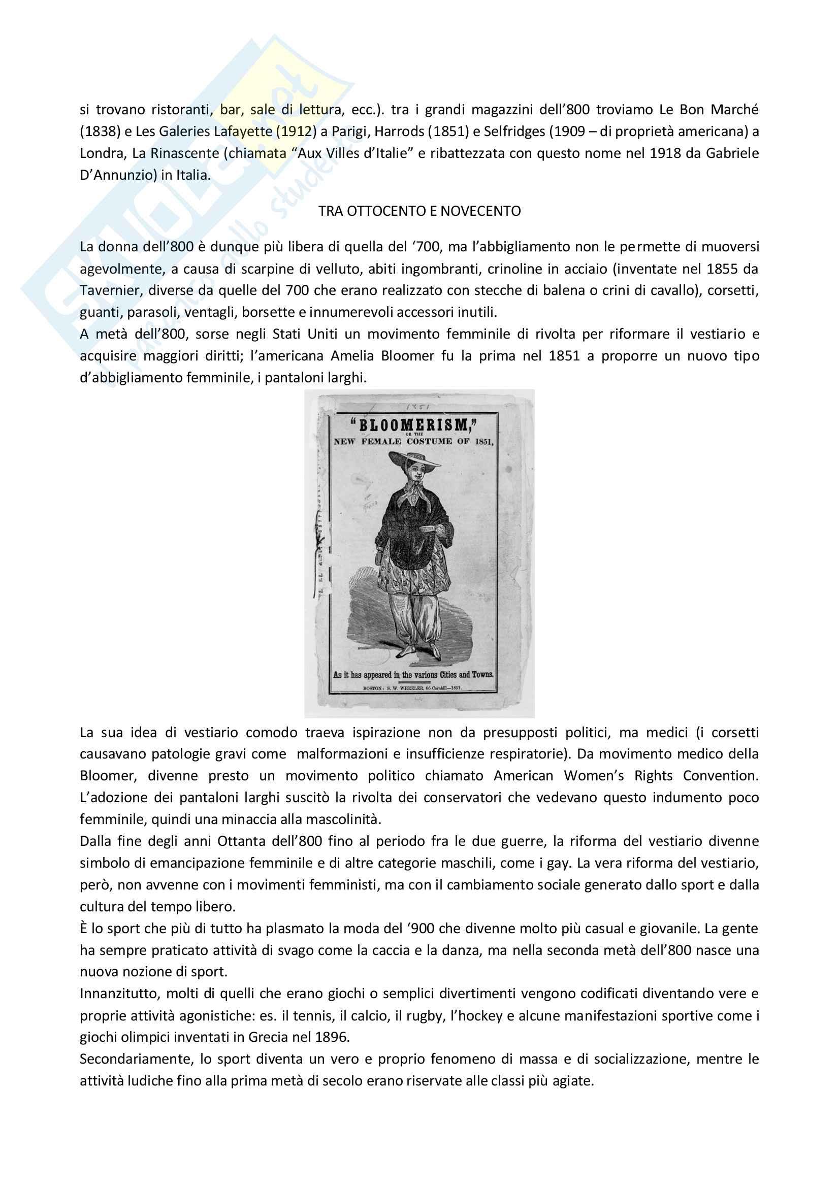 Storia della moda Pag. 11