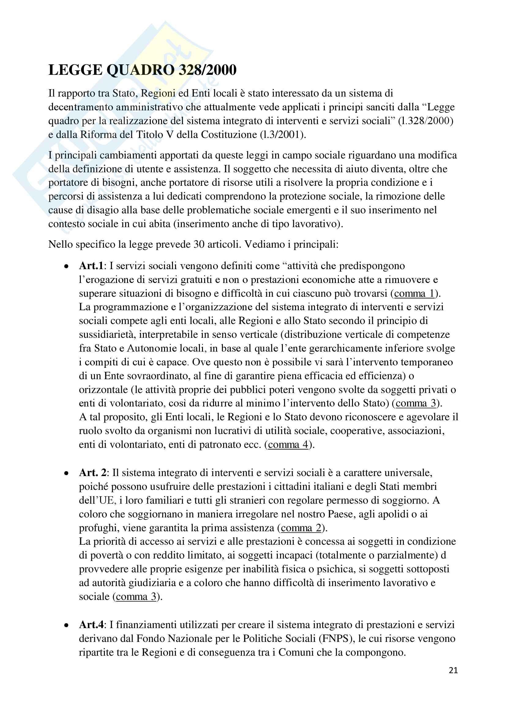 Assistente sociale specialista Pag. 21