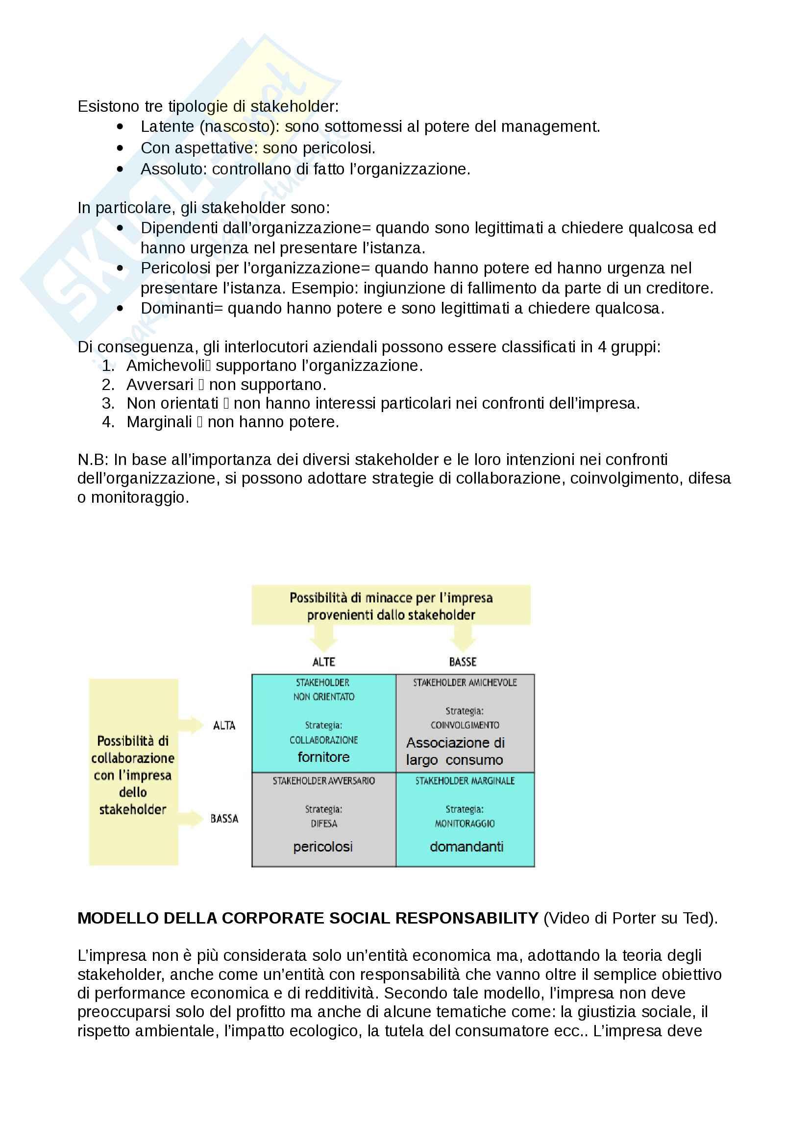 """Riassunto esame economia e gestione d'impresa (EGI), prof. Crespi, Serio e Baroncelli. Libri consigliati:""""Economia e gestione delle imprese"""" e """"Operations Management"""" Pag. 6"""