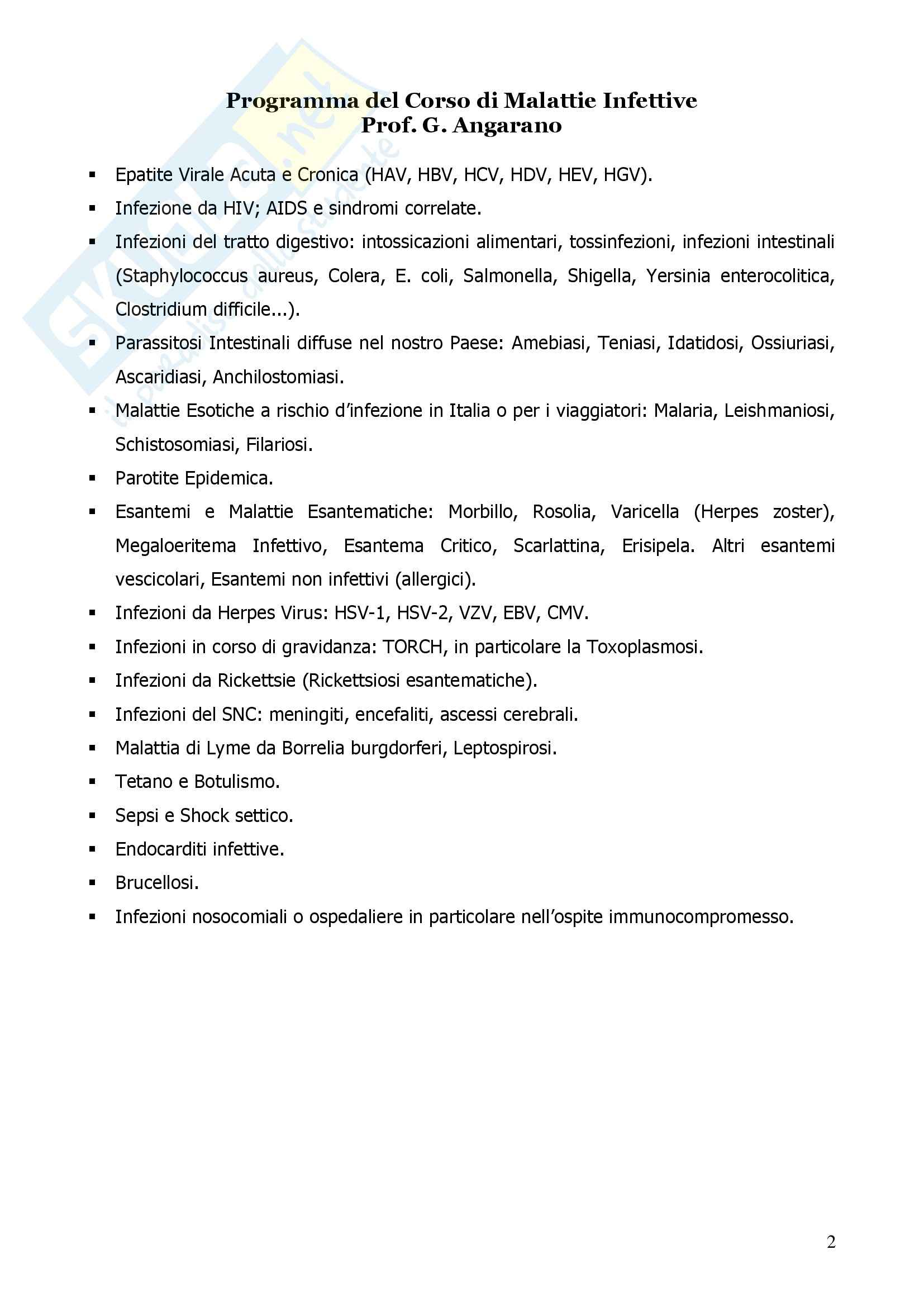 Malattie Infettive Pag. 2