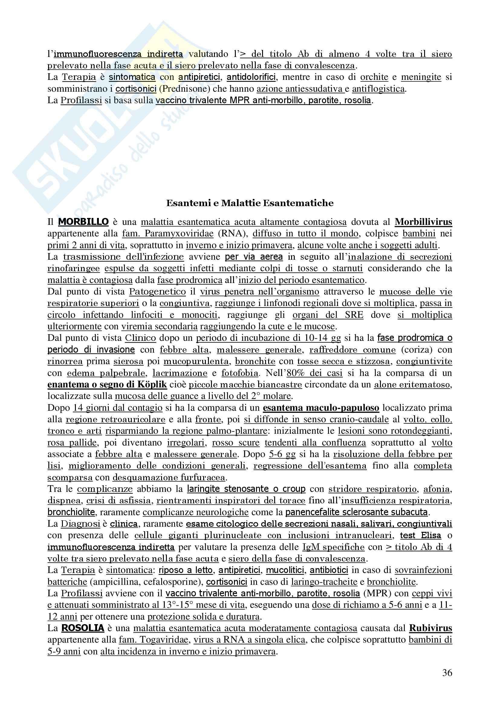 Malattie Infettive Pag. 36
