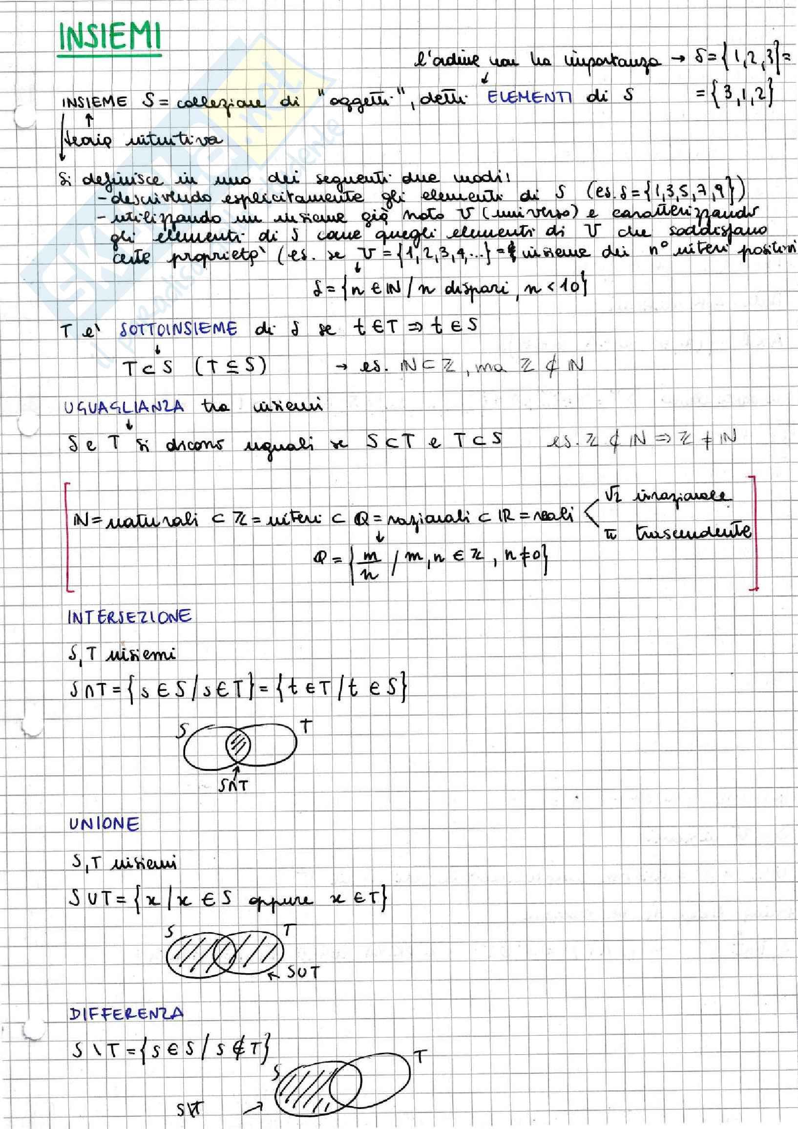 Algebra lineare e geometria analitica - corso completo con teoria ed esempi