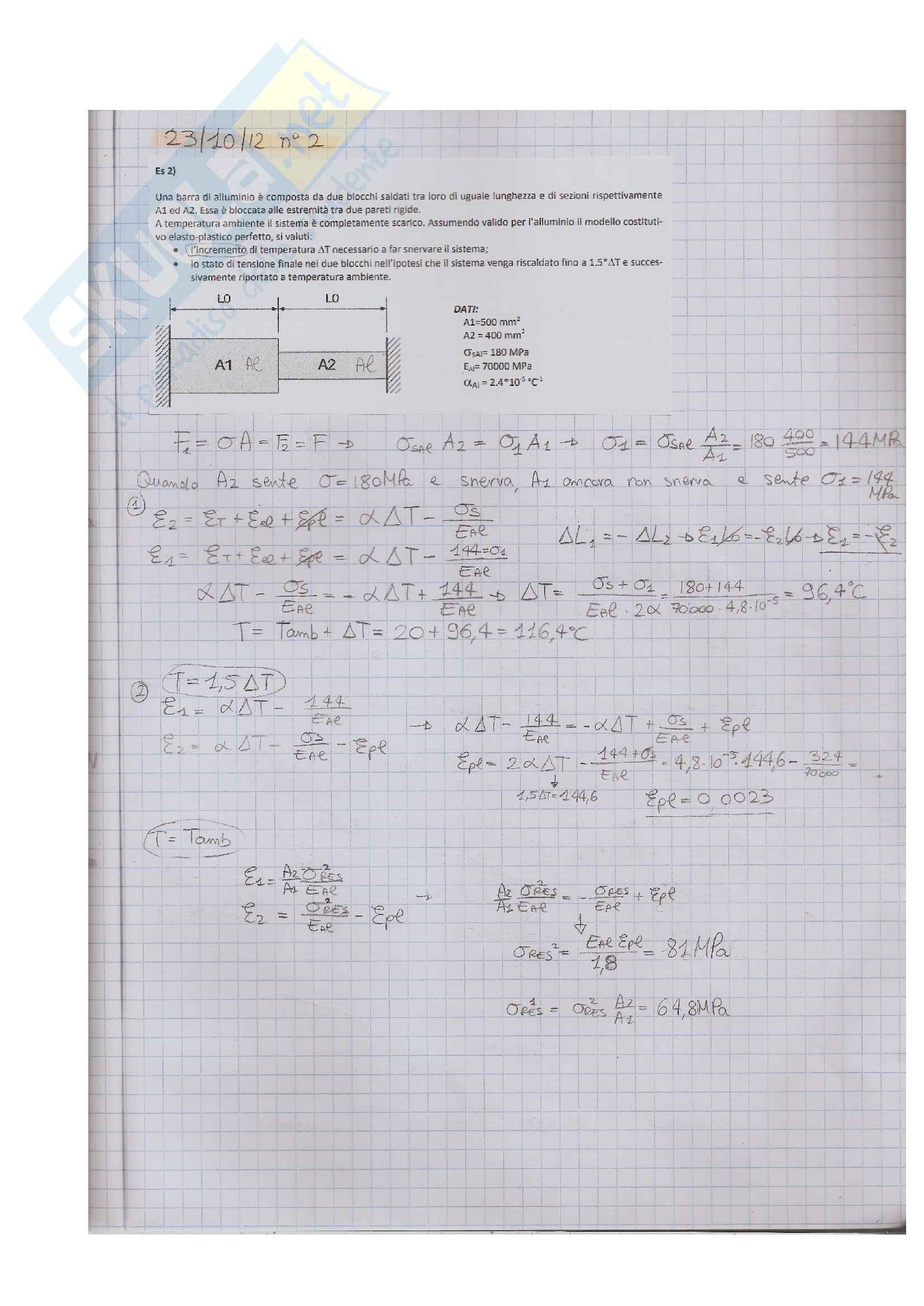 Esame Costruzione di Macchine Esercizi Svolti,prof Rossi e Sasso,Formulario e Riassunto 1°,2° parziale Pag. 16