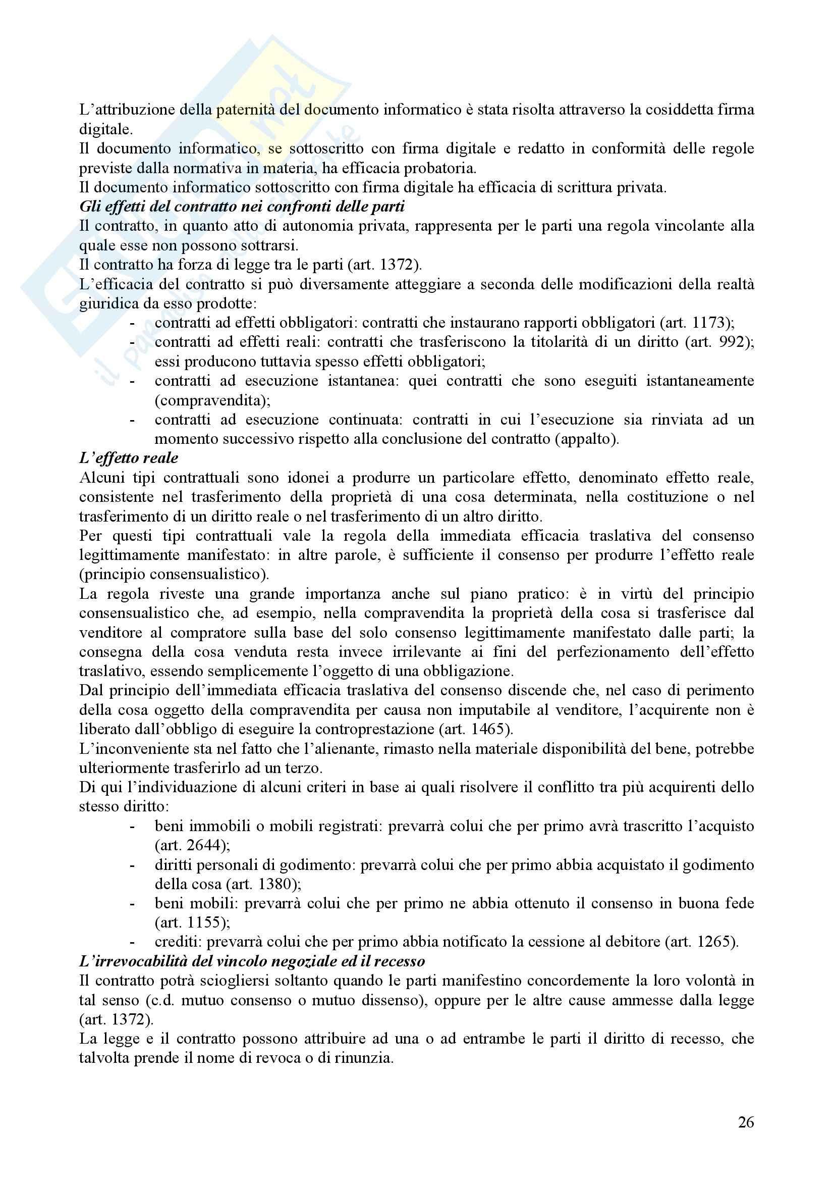 Riassunto esame Diritto privato, prof. Ferro, libro consigliato Istituzioni di Diritto privato, Nivarra, Ricciuto, Scognamiglio Pag. 26