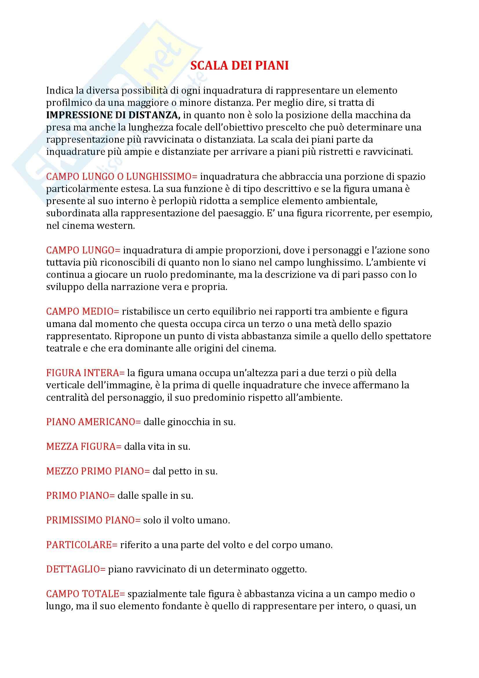 appunto G. Rondolino Storia del cinema