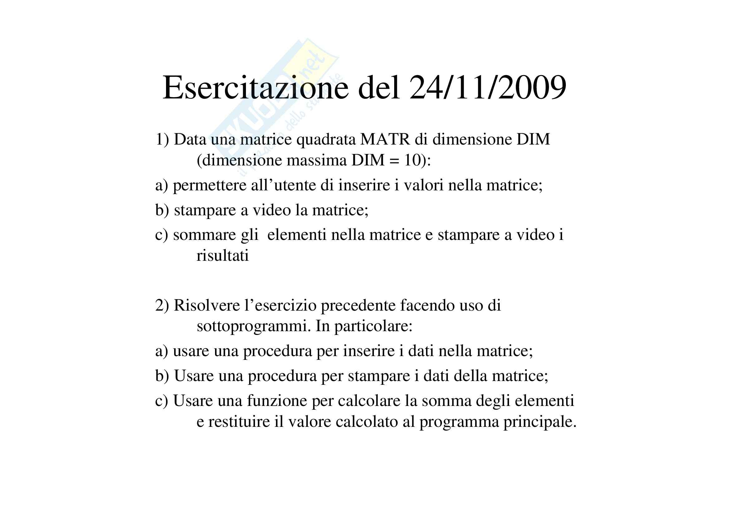 appunto L. Mallozzi Analisi matematica I