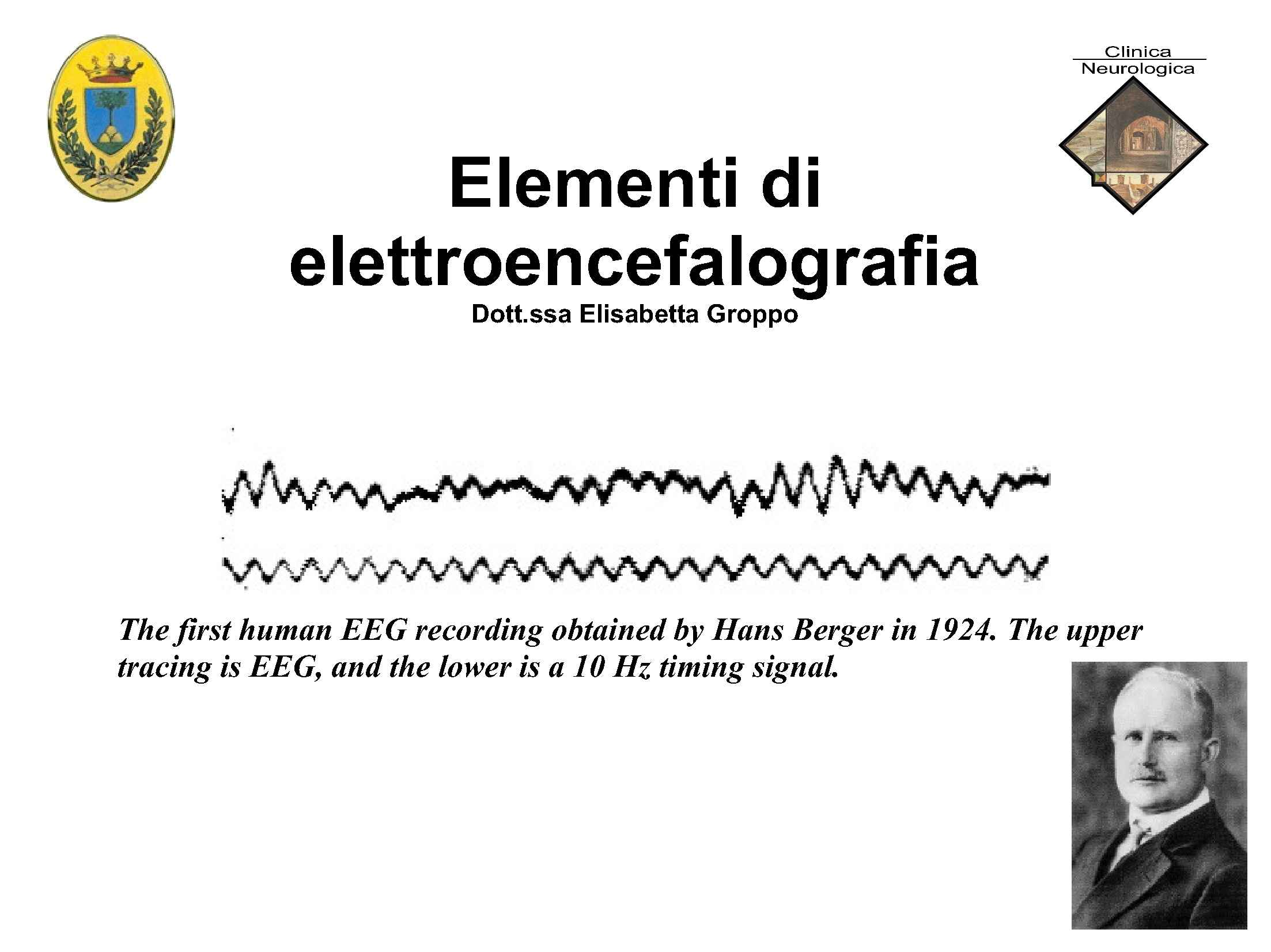 Elementi di elettroencefalografia
