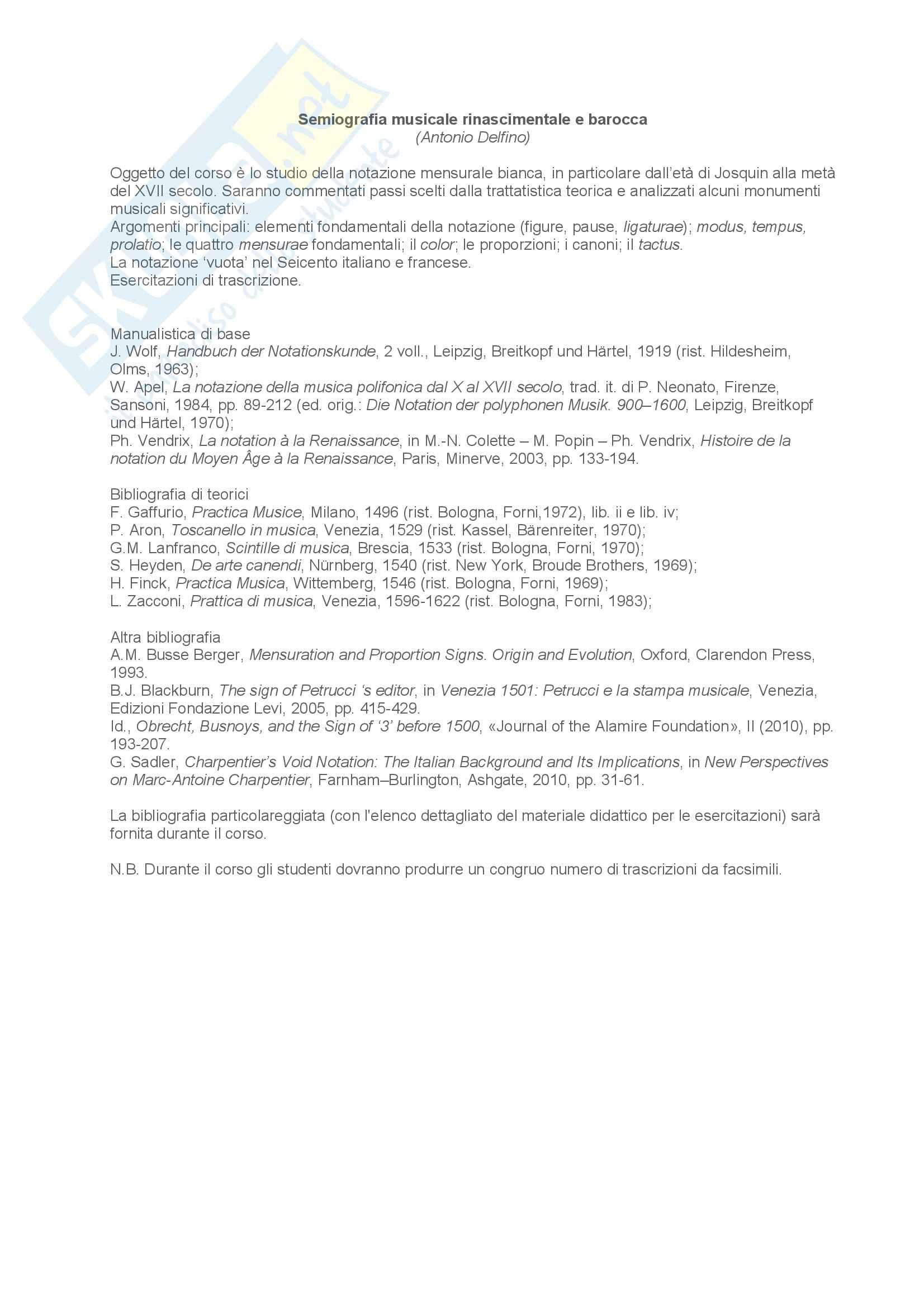 Notazione mensurale bianca