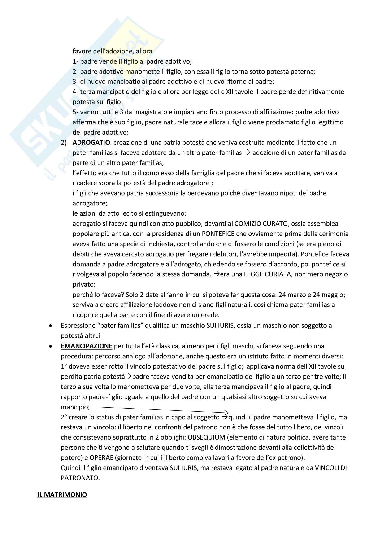 Corso di Istituzioni di diritto romano Appunti uniti in PDF Pag. 26