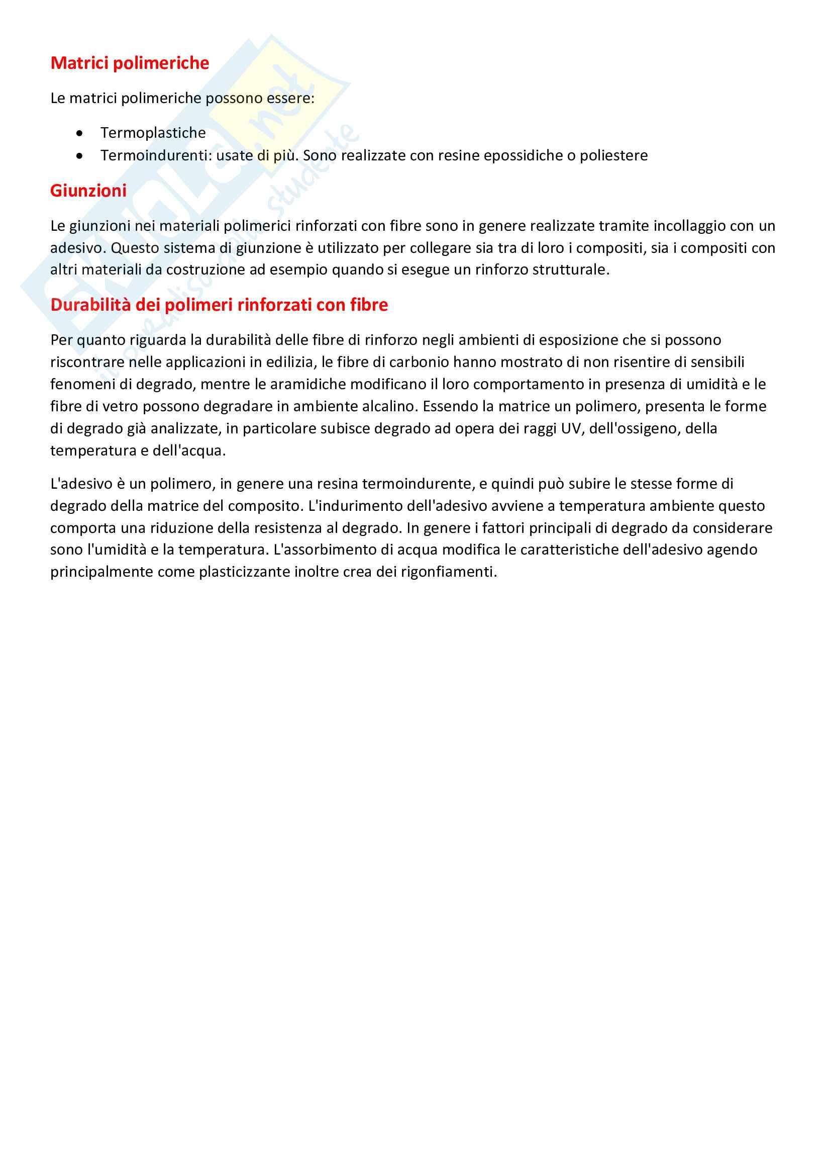 Riassunto esame di Scienza e tecnologia dei materiali, prof. Pagliolico, libro consigliato Introduzione ai materiali per l'architettura, Gastaldi e Bertolini Pag. 36