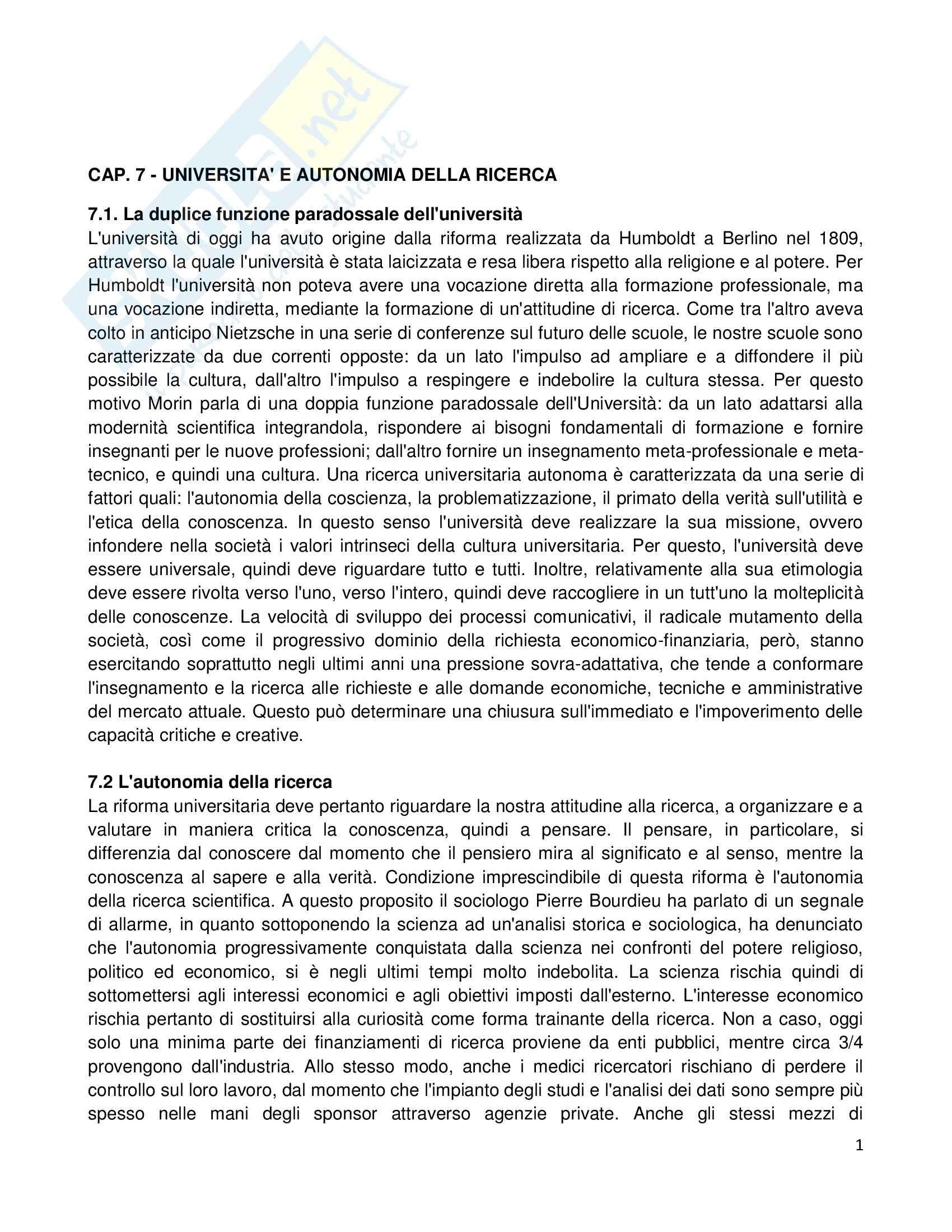 Riassunto esame Etica della Comunicazione, prof. Bellino, libro consigliato Filosofia del Successo