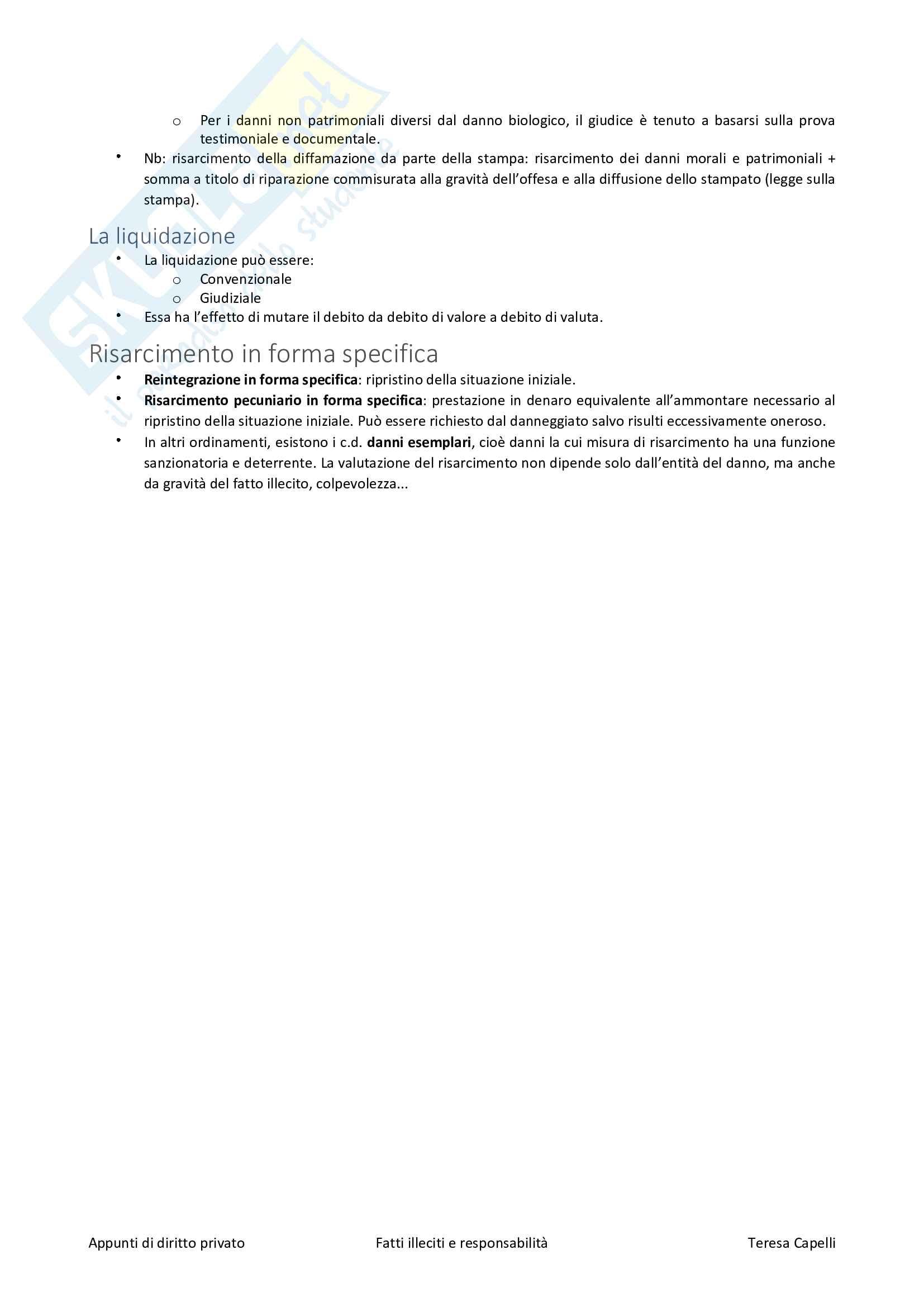 Fatti illeciti e responsabilità Pag. 6