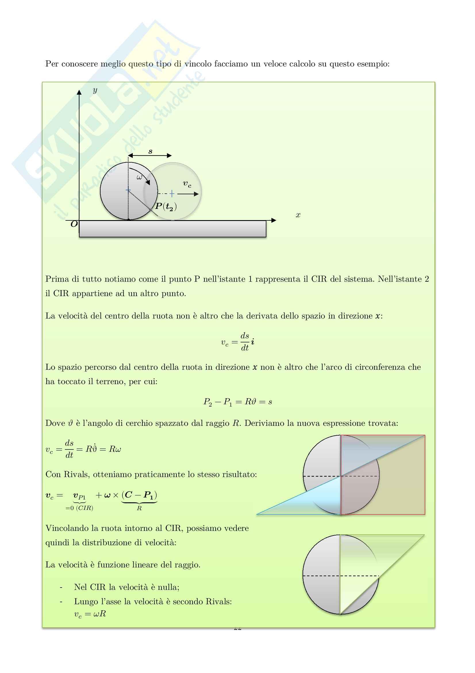 Appunti di Meccanica applicata alle macchine Pag. 26