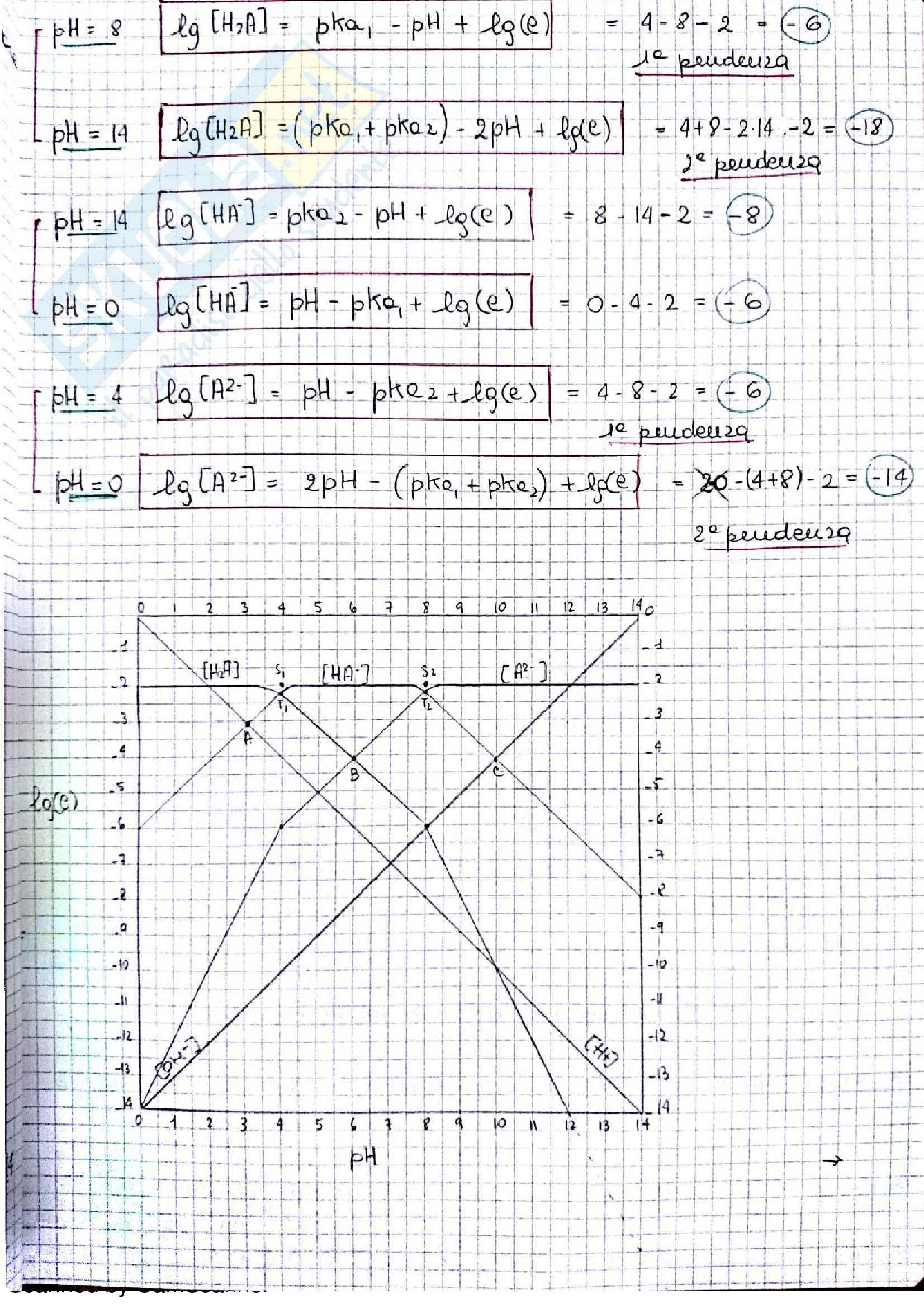 Appunti completi di chimica analitica comprensivi di esercizi d'esame Pag. 16