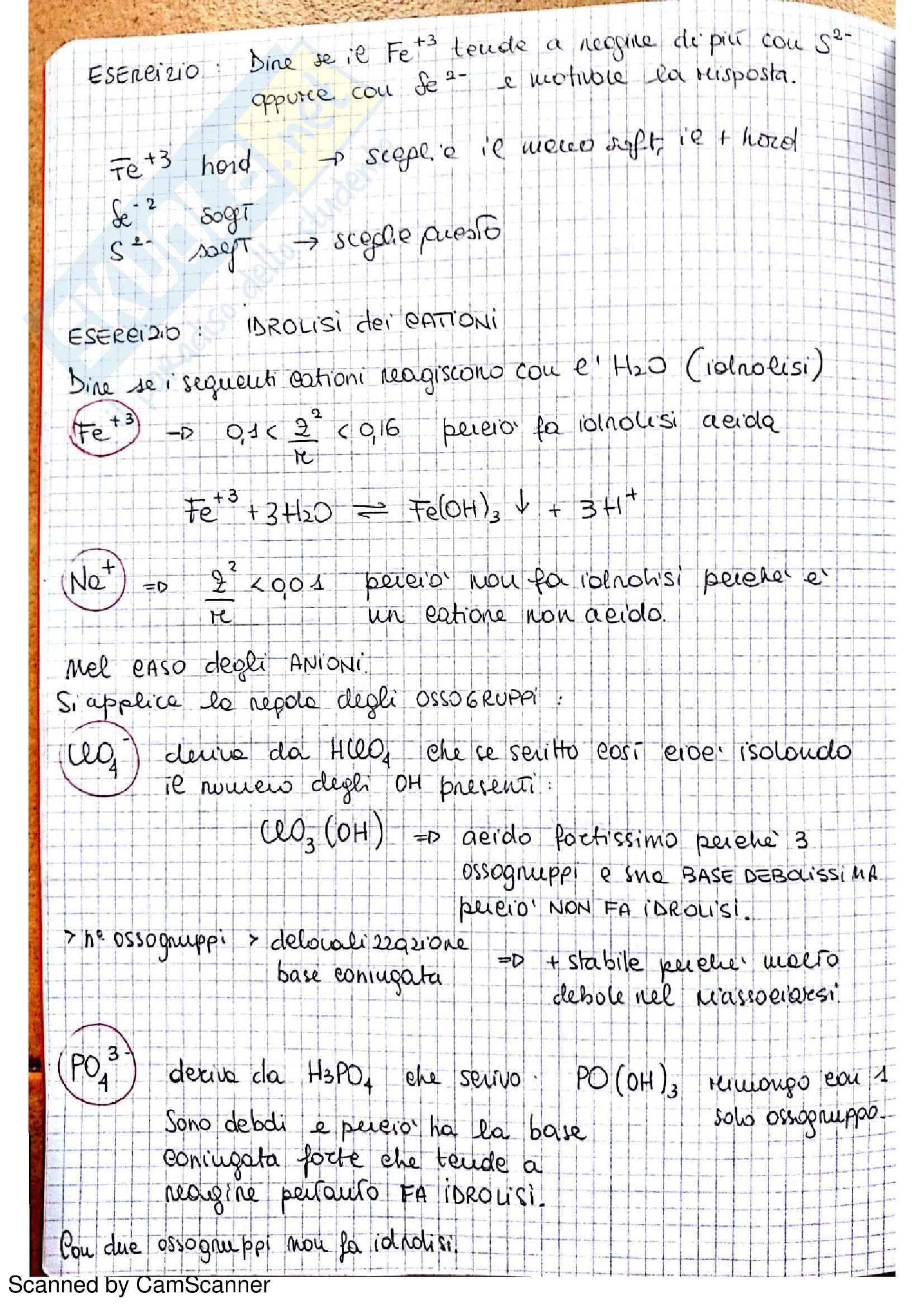 Appunti completi di chimica analitica comprensivi di esercizi d'esame Pag. 26
