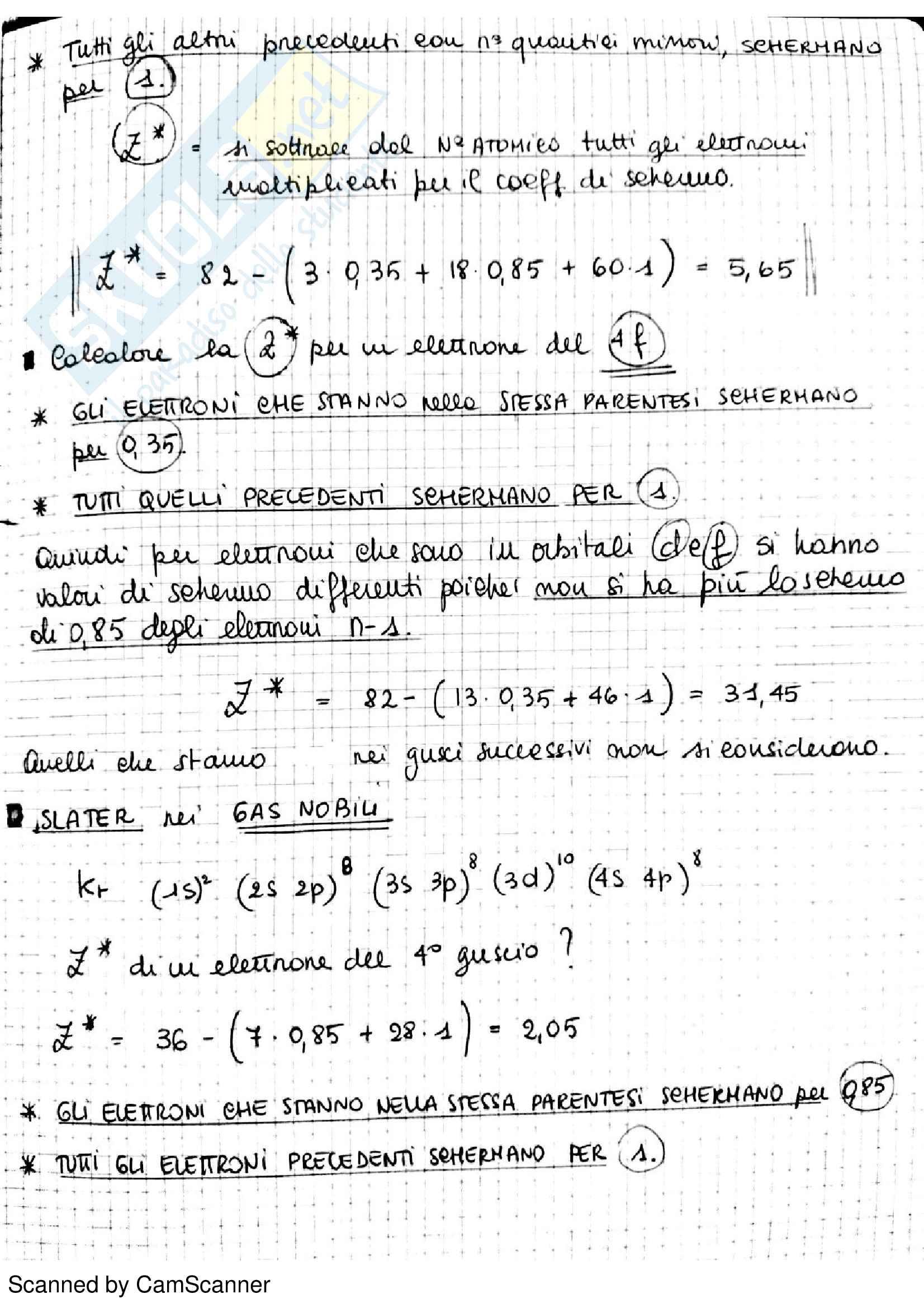 Appunti completi di chimica analitica comprensivi di esercizi d'esame Pag. 61
