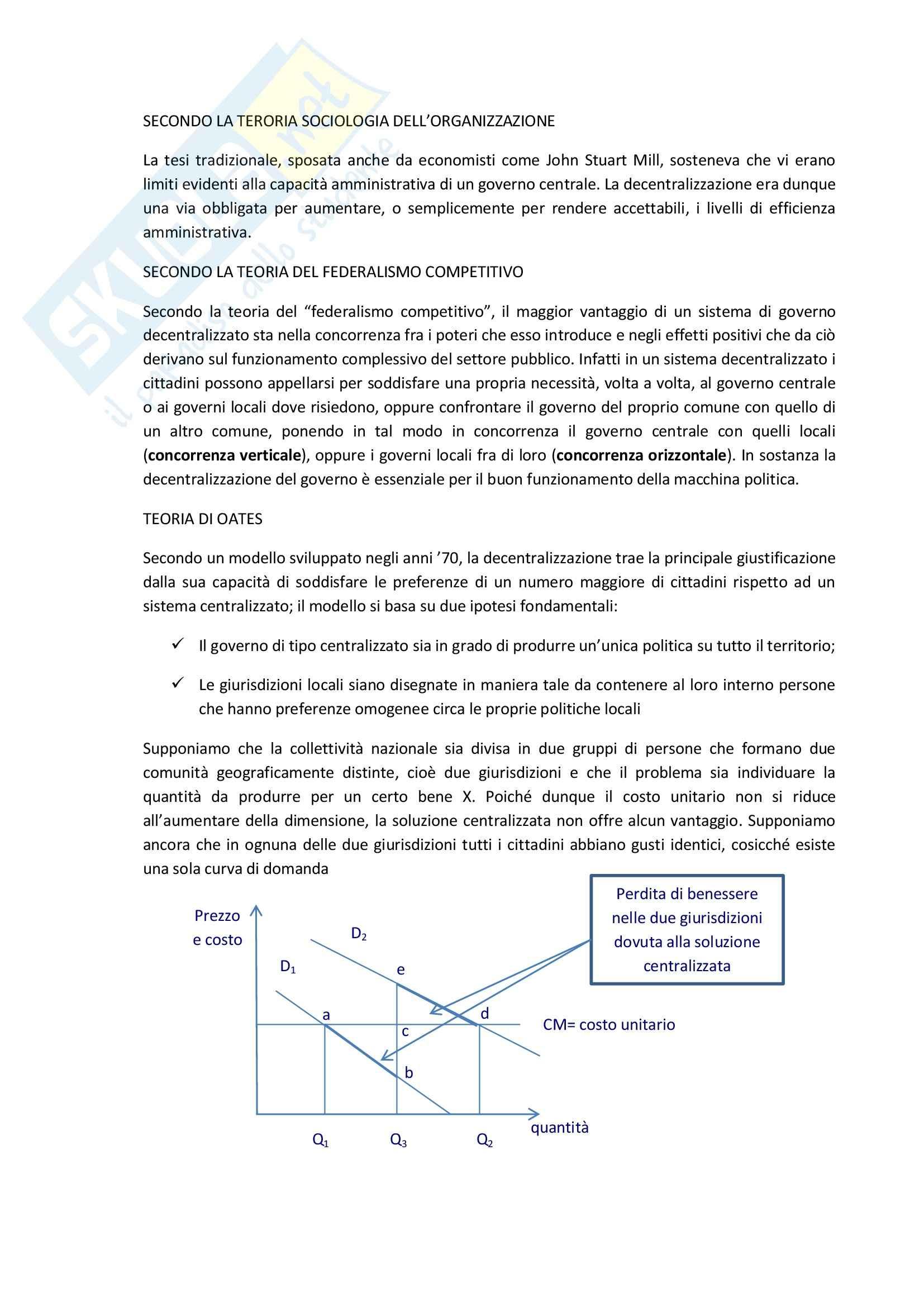 Finanza degli enti locali - Appunti Pag. 2