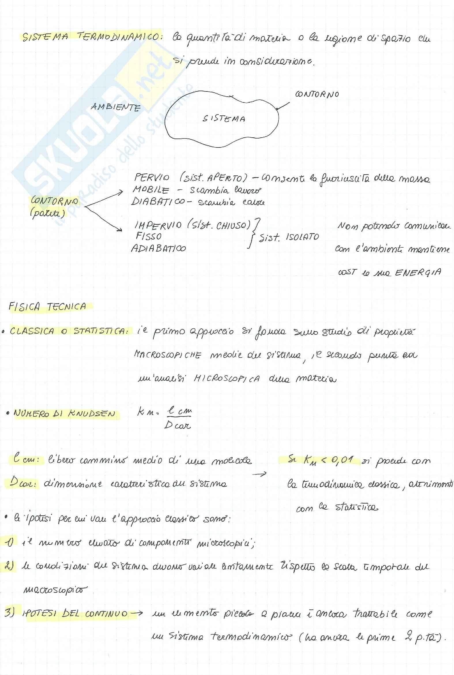 Fisica Tecnica, teoria + formulario + esercizi + risposte a domande di teoria Pag. 11