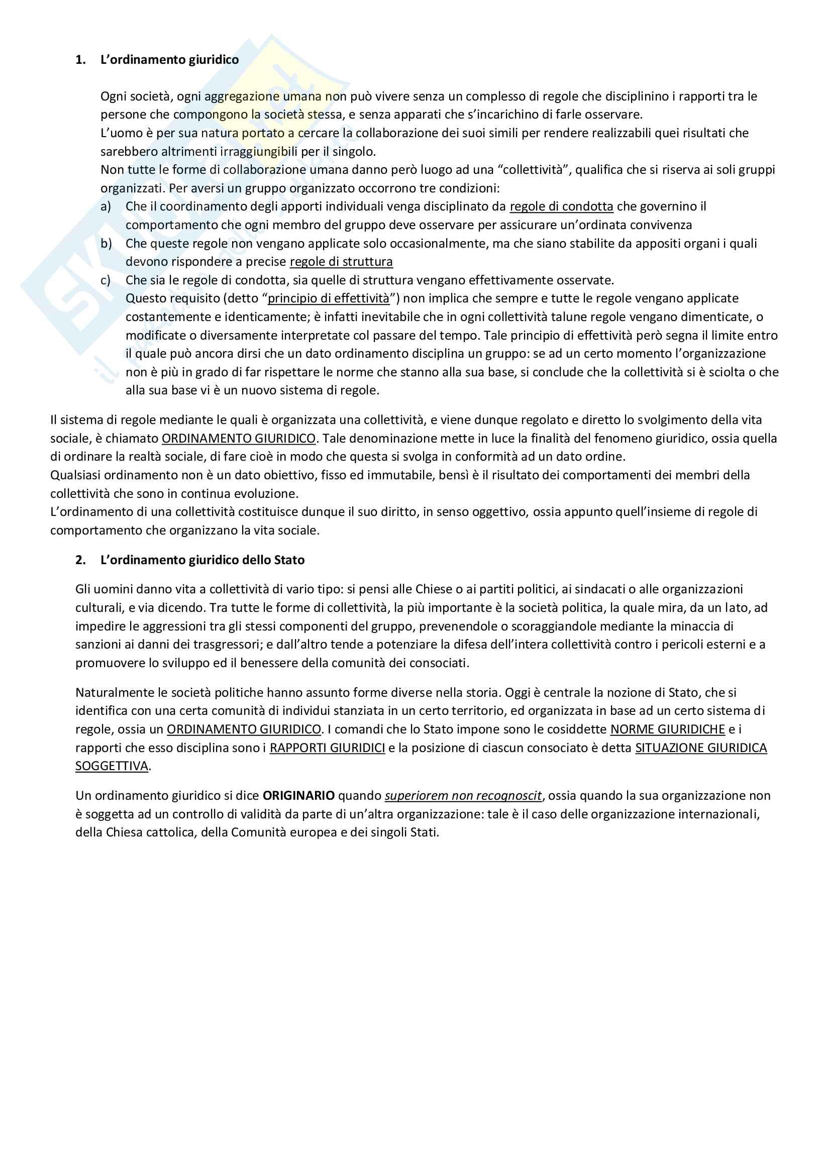 appunto R. Carleo Diritto privato