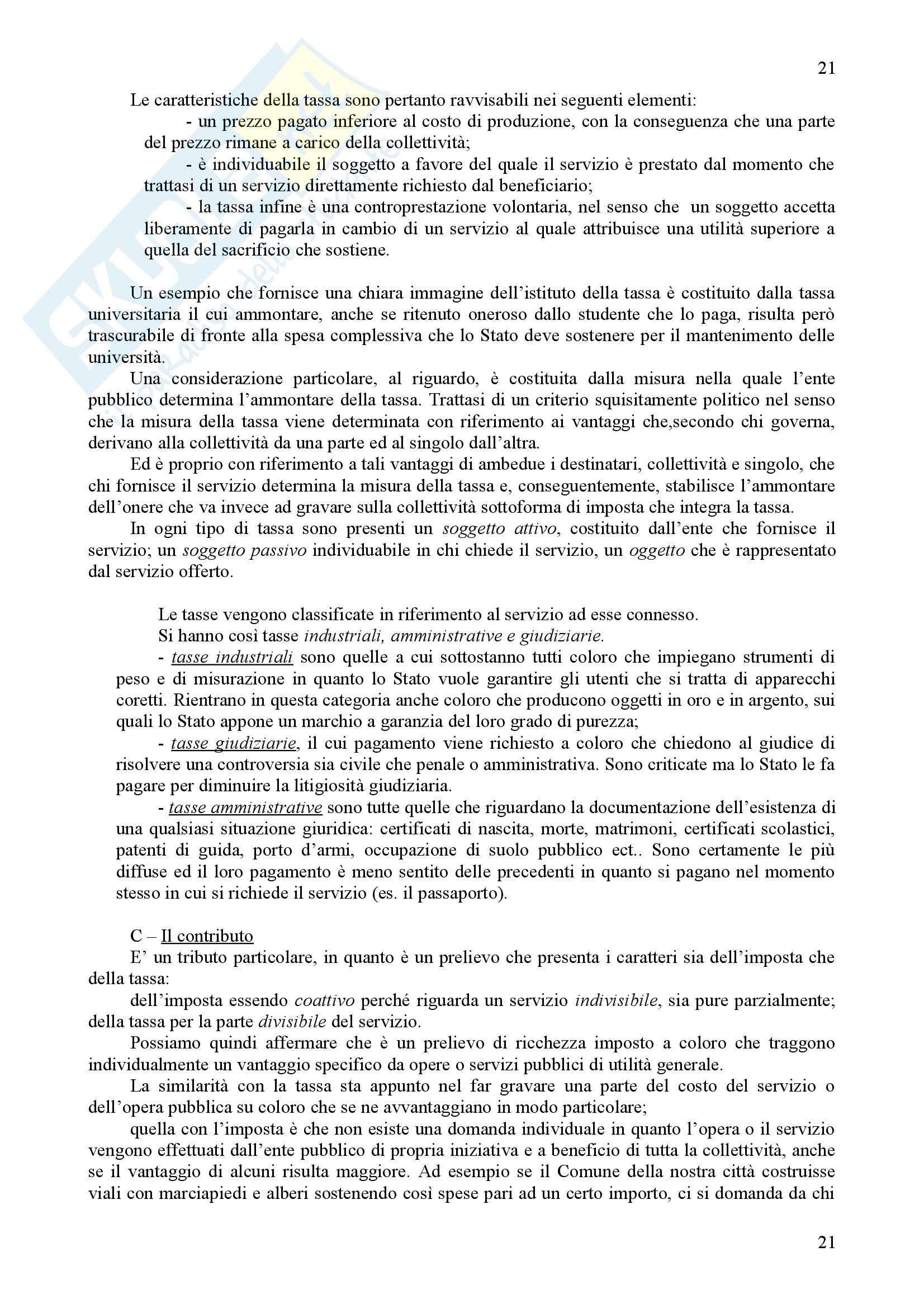 Scienza delle finanze - Riassunto esame, prof. Iannucci Pag. 21