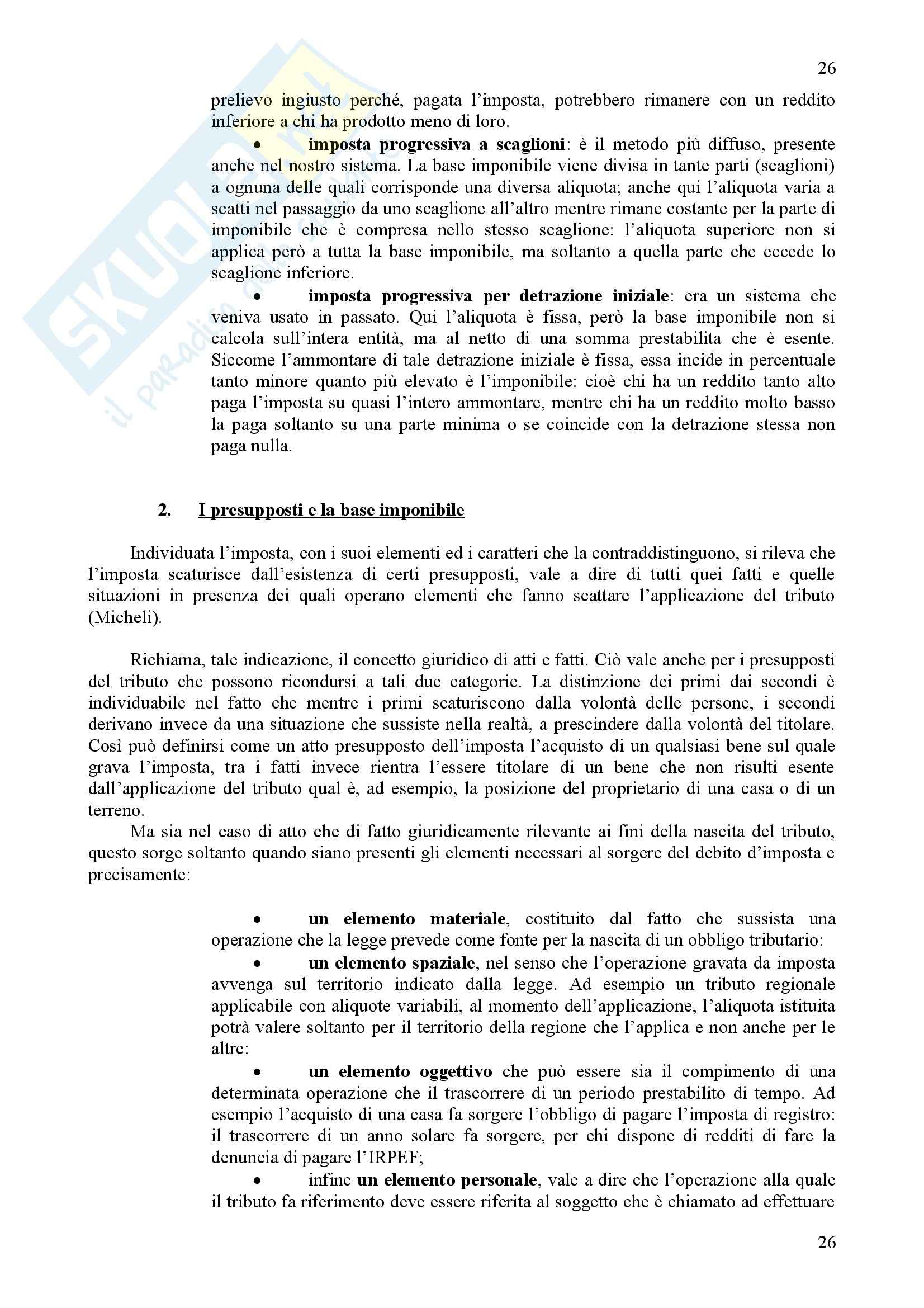 Scienza delle finanze - Riassunto esame, prof. Iannucci Pag. 26