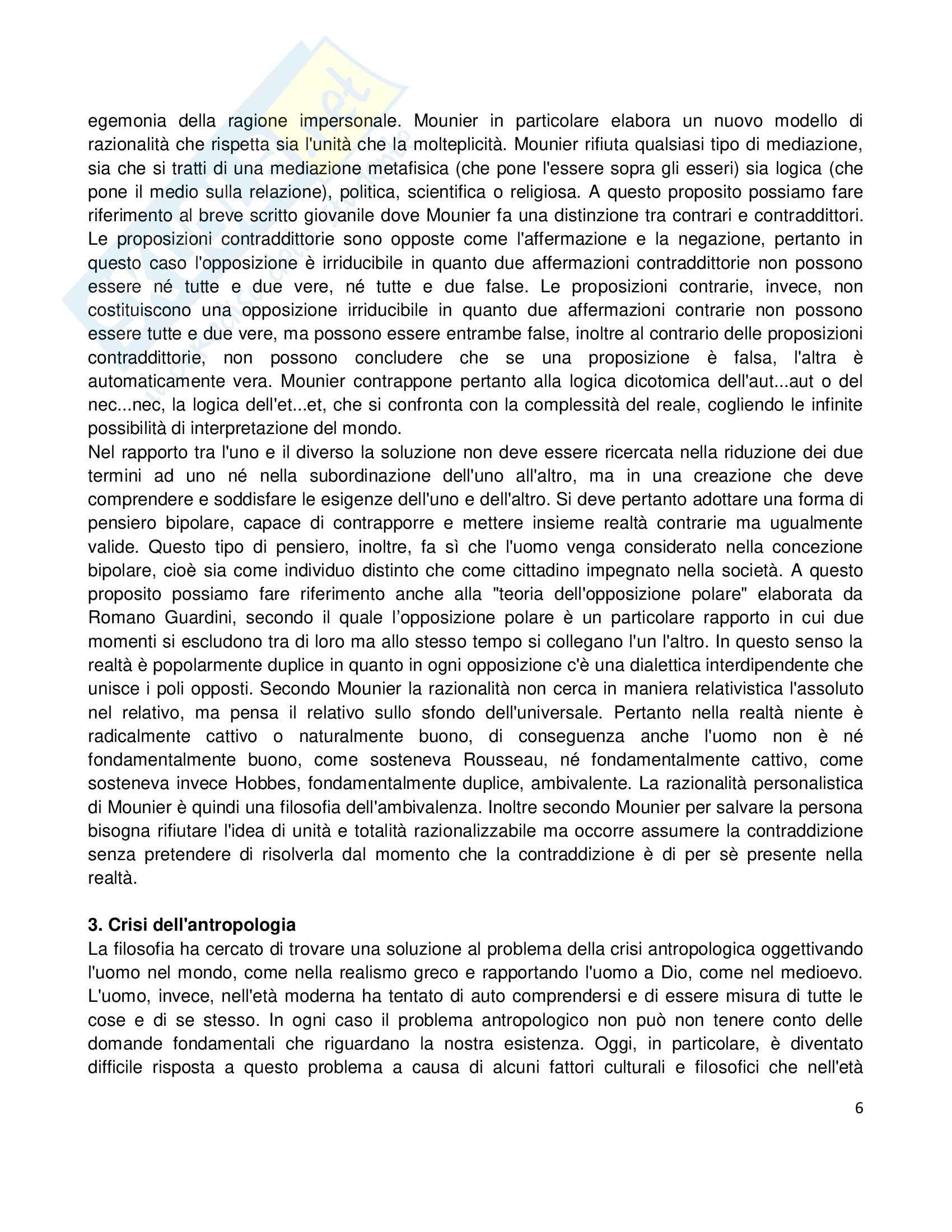Riassunto esame Etica della Comunicazione, prof. Bellino, libro consigliato Persona e Ragionevolezza Pag. 6