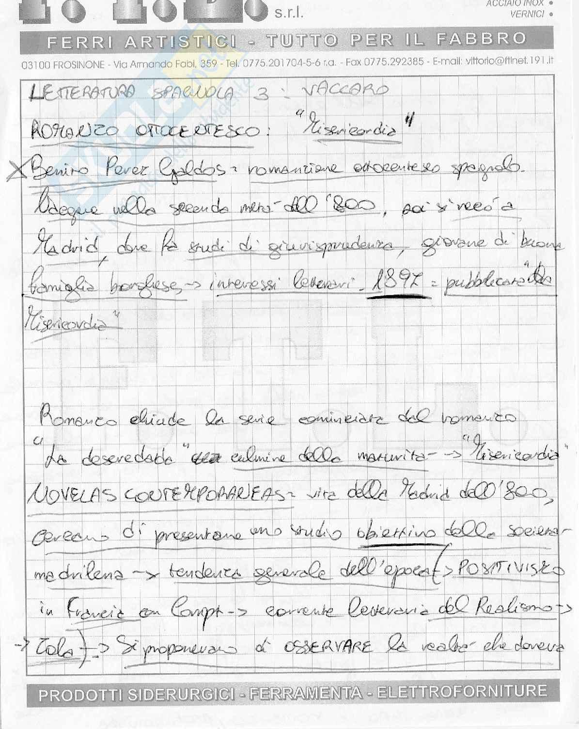 Letteratura spagnola III Dal 700 ad oggi Pag. 71