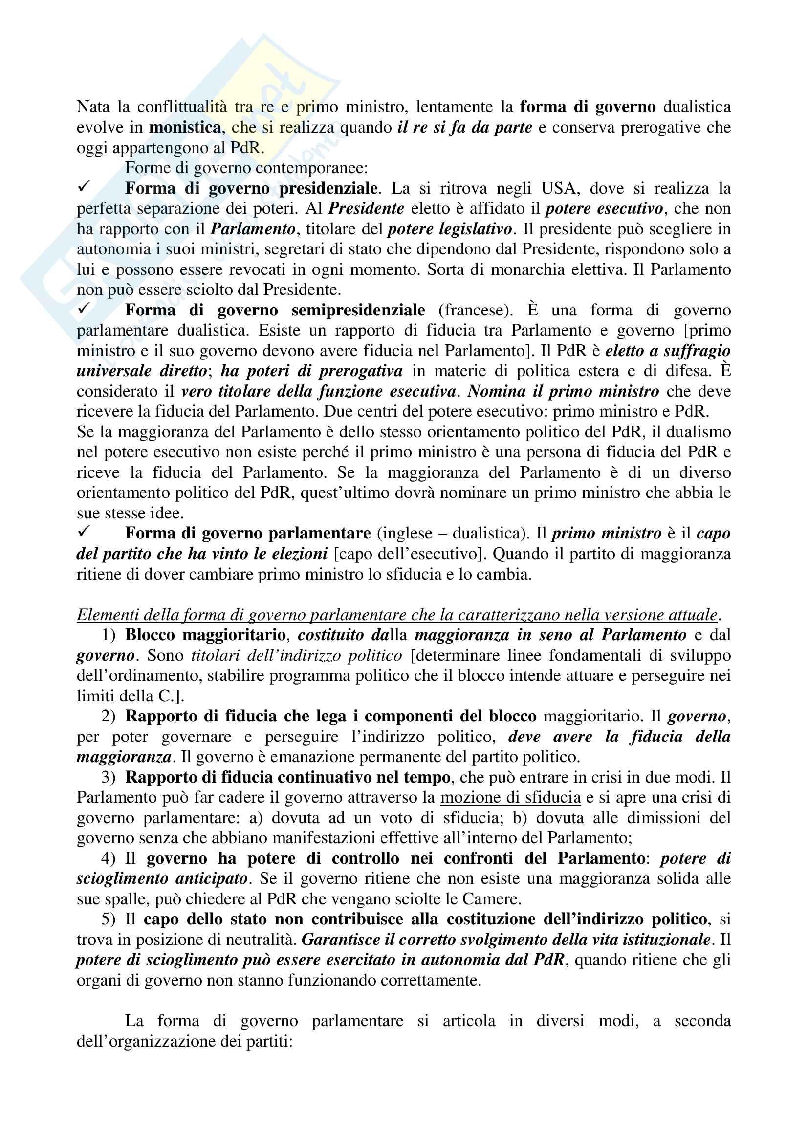 Appunti - Diritto Pubblico Pag. 6