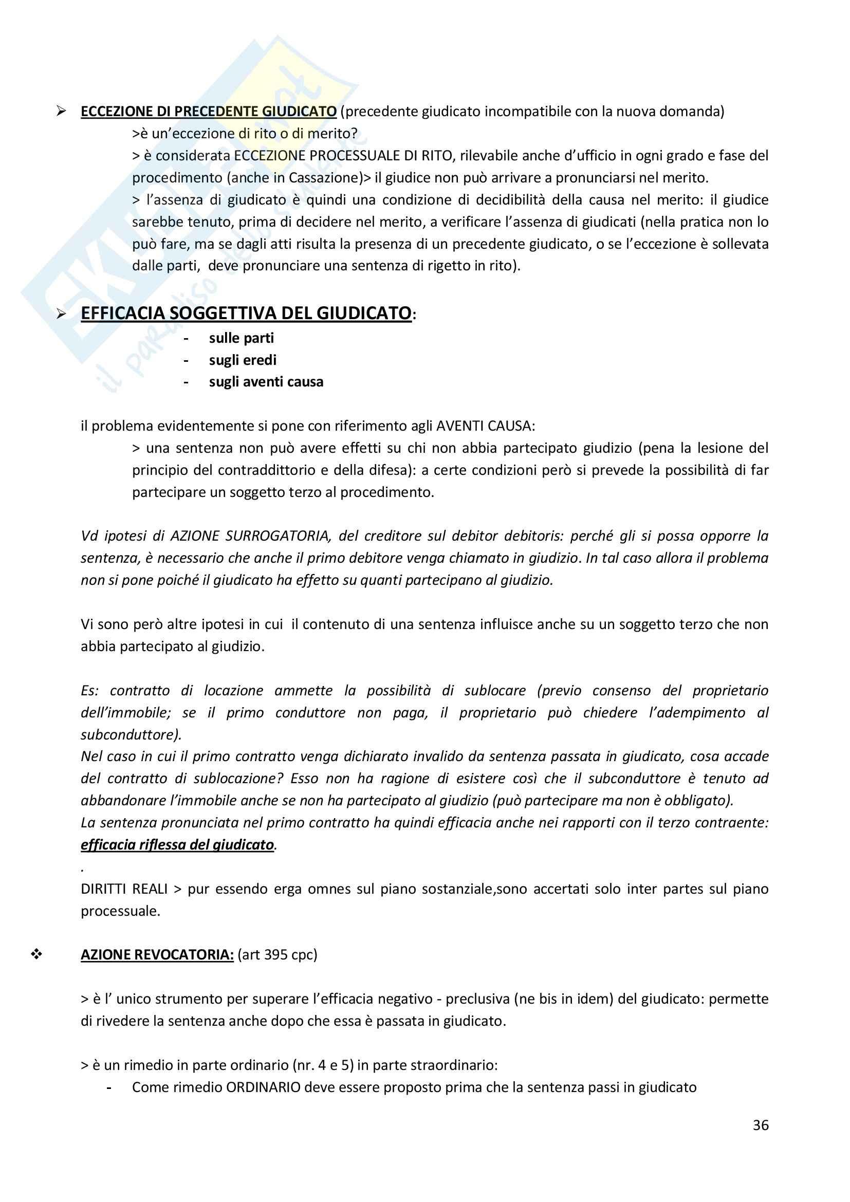Riassunto esame Diritto Processuale Civile, prof. Consolo, libro consigliato Spiegazioni di diritto processuale civile Pag. 36