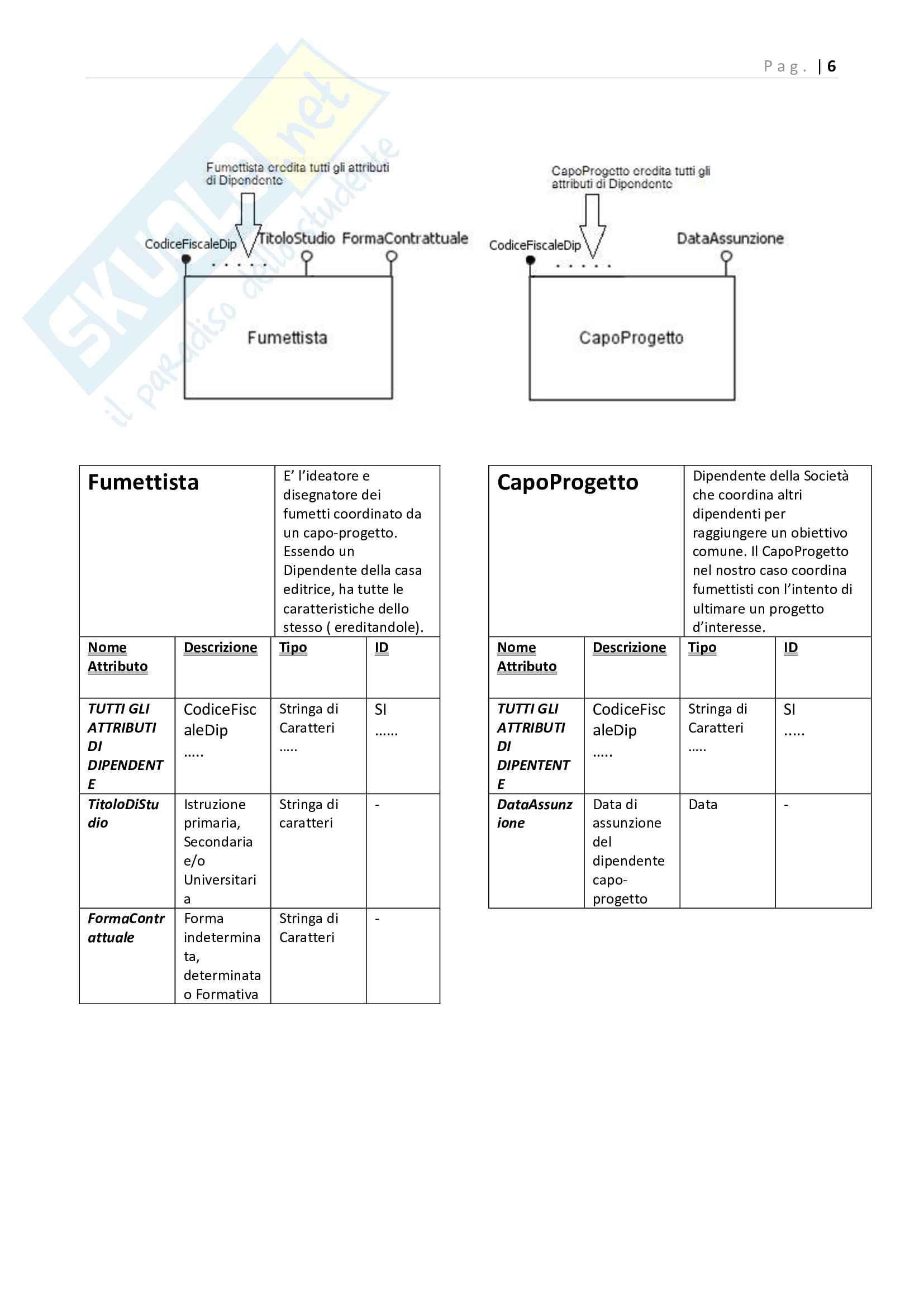 Elaborato Basi di Dati Svolto e Completo Pag. 6