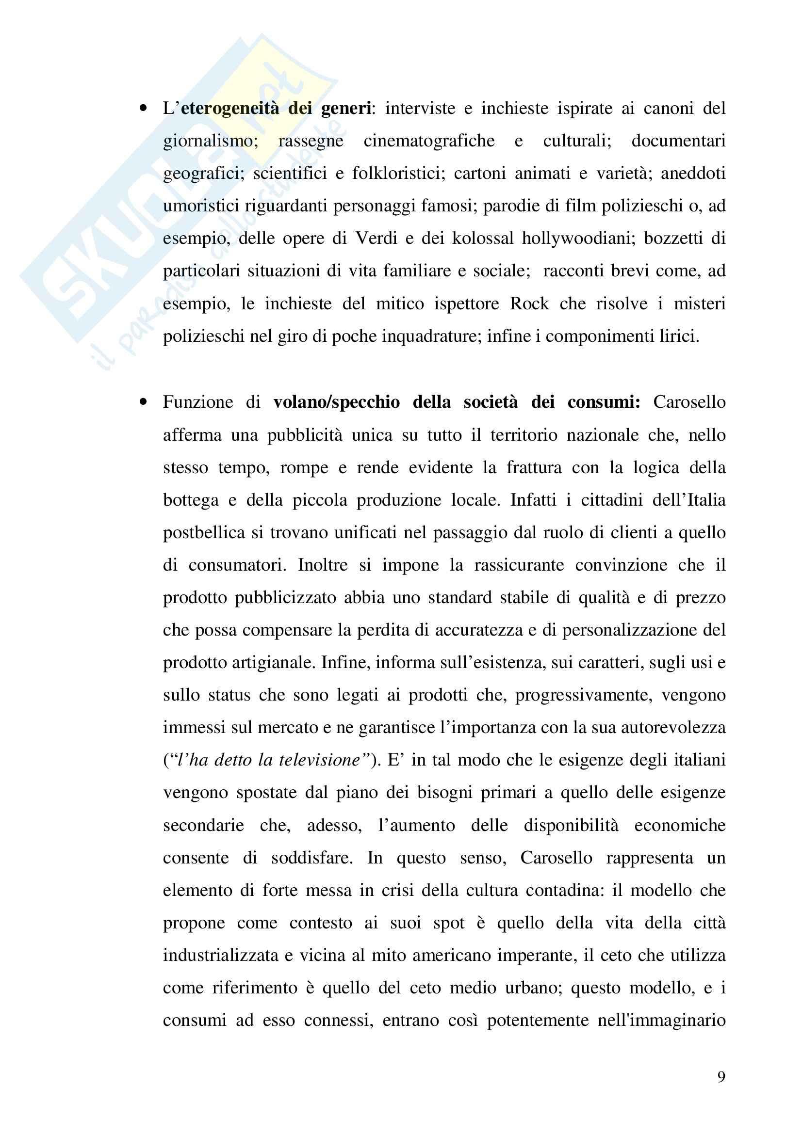 Economia dei media - pubblicità - Tesina Pag. 16