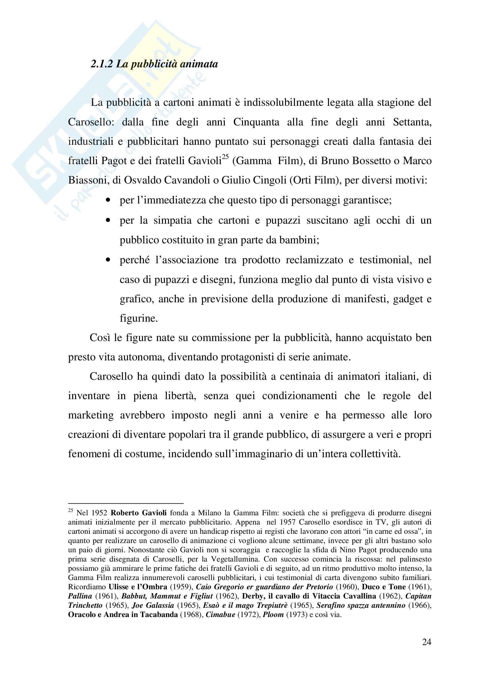 Economia dei media - pubblicità - Tesina Pag. 31