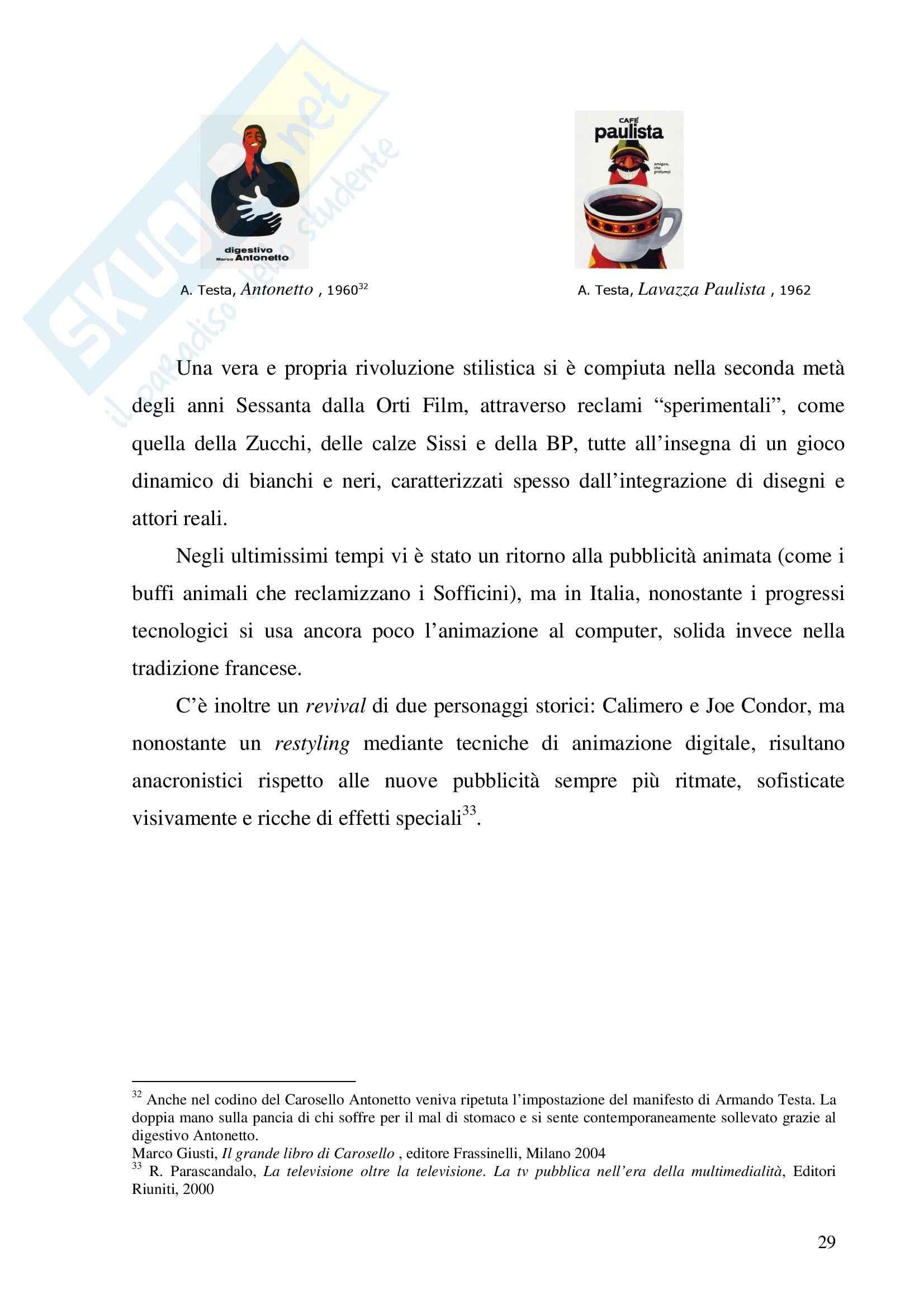Economia dei media - pubblicità - Tesina Pag. 36