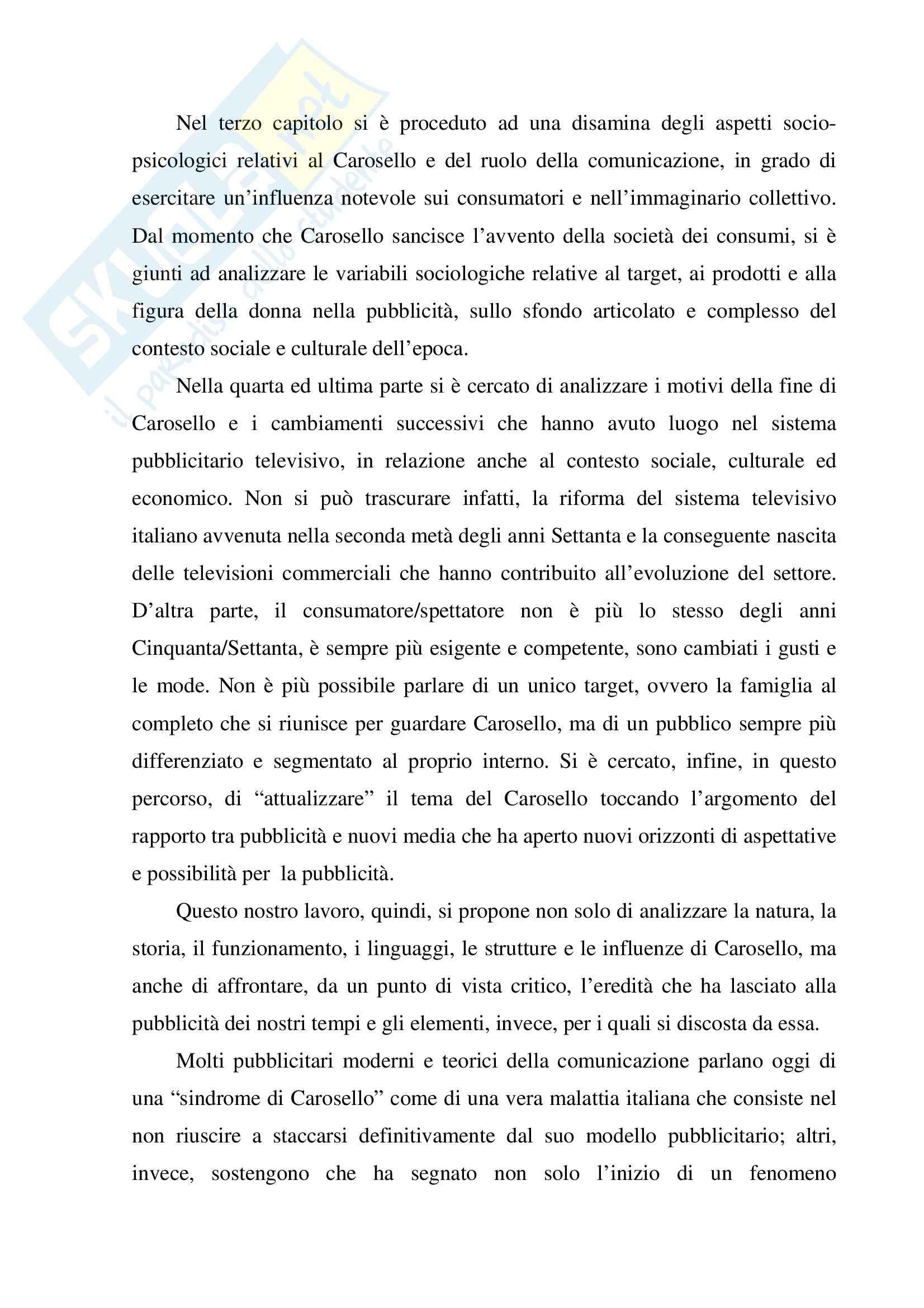 Economia dei media - pubblicità - Tesina Pag. 6