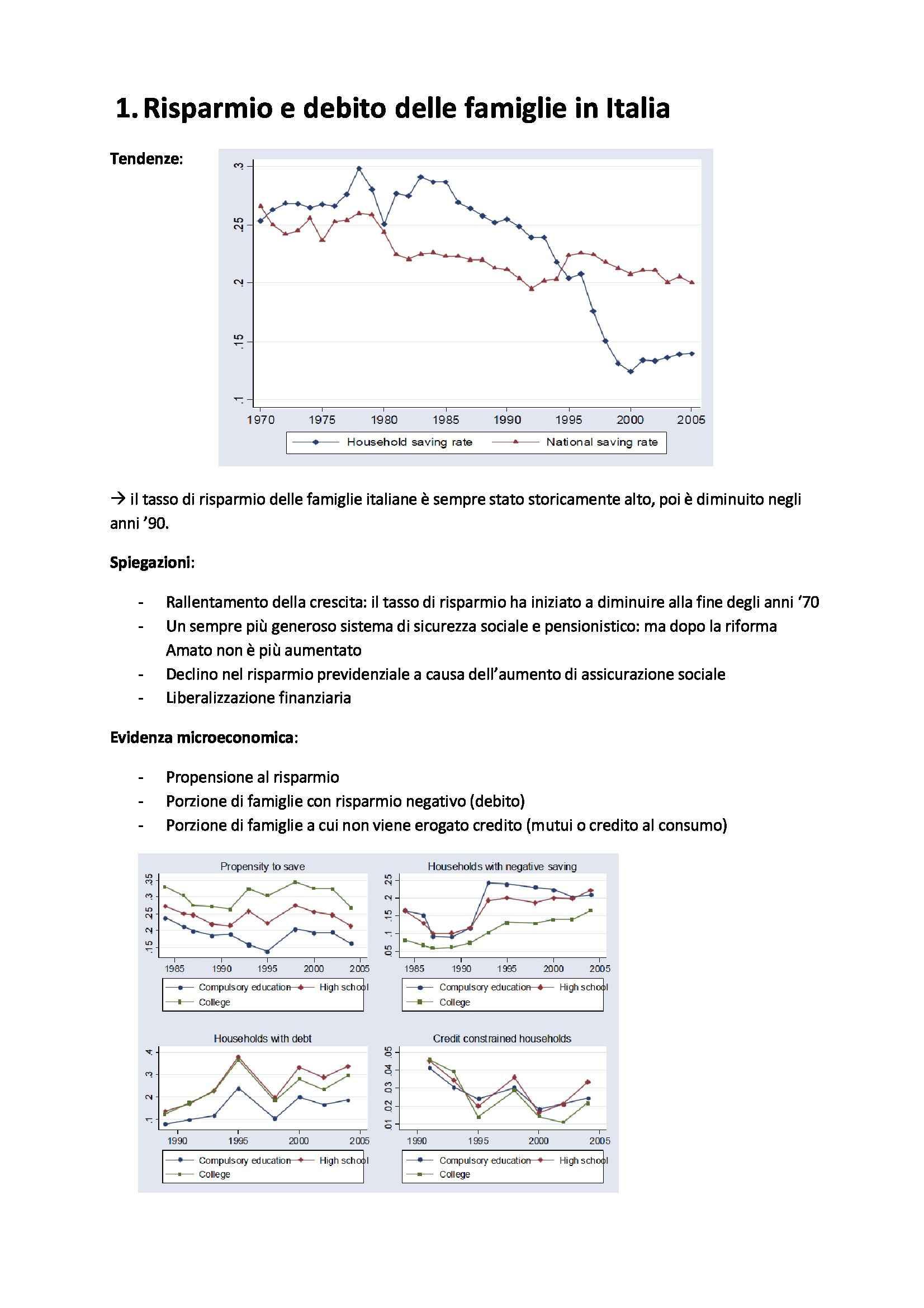 Politica economica - raccolta delle letture obbligatorie tradotte e riassunte, prof. Perotti