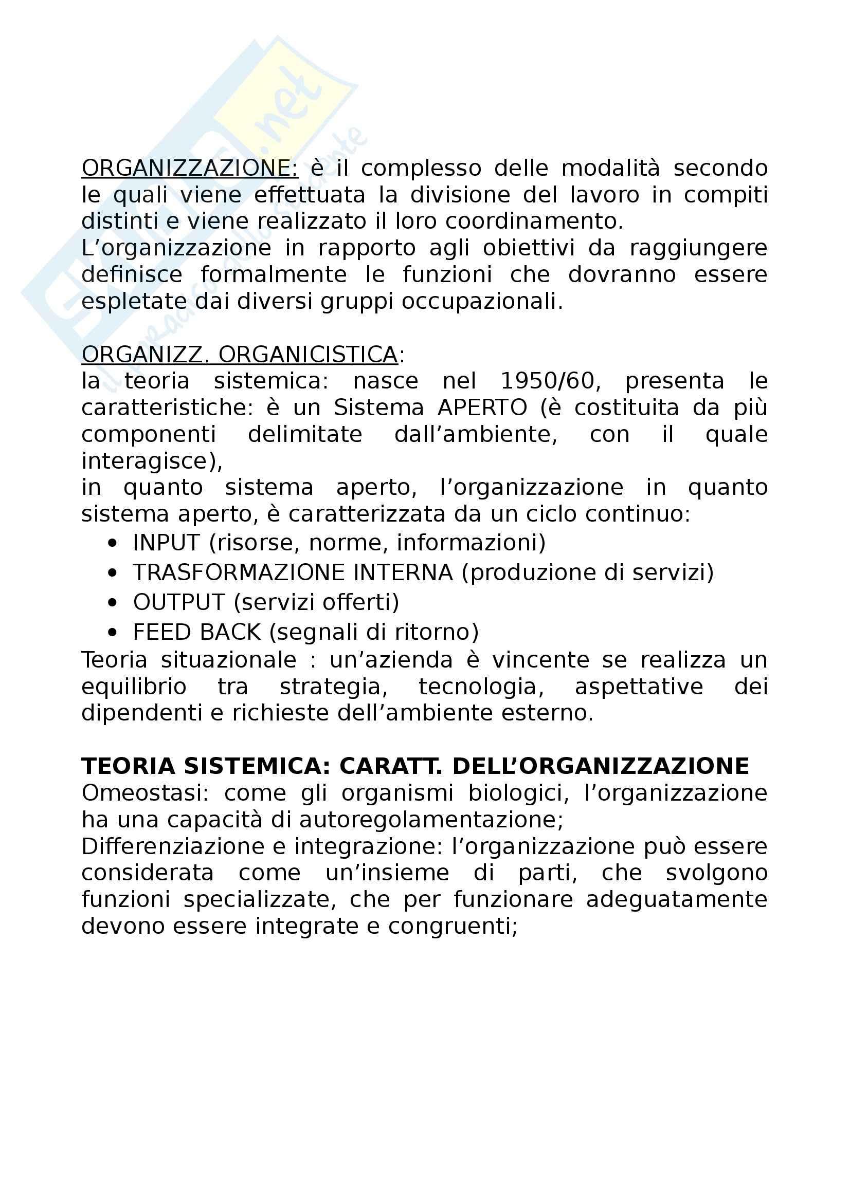 Infermieristica - organizzazione professionale