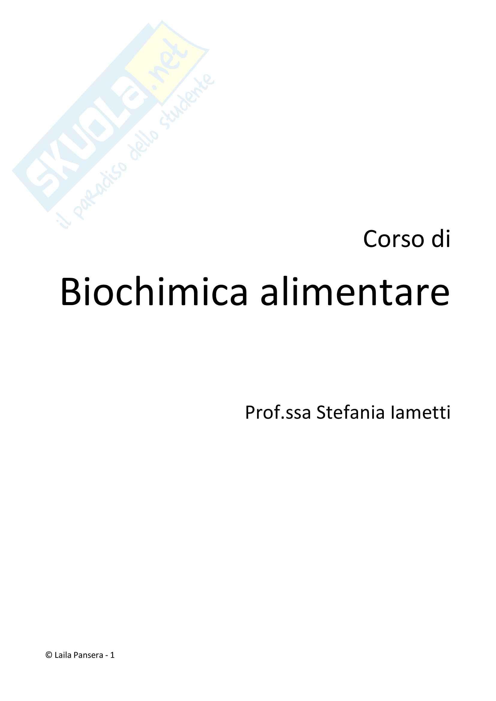 Biochimica 2