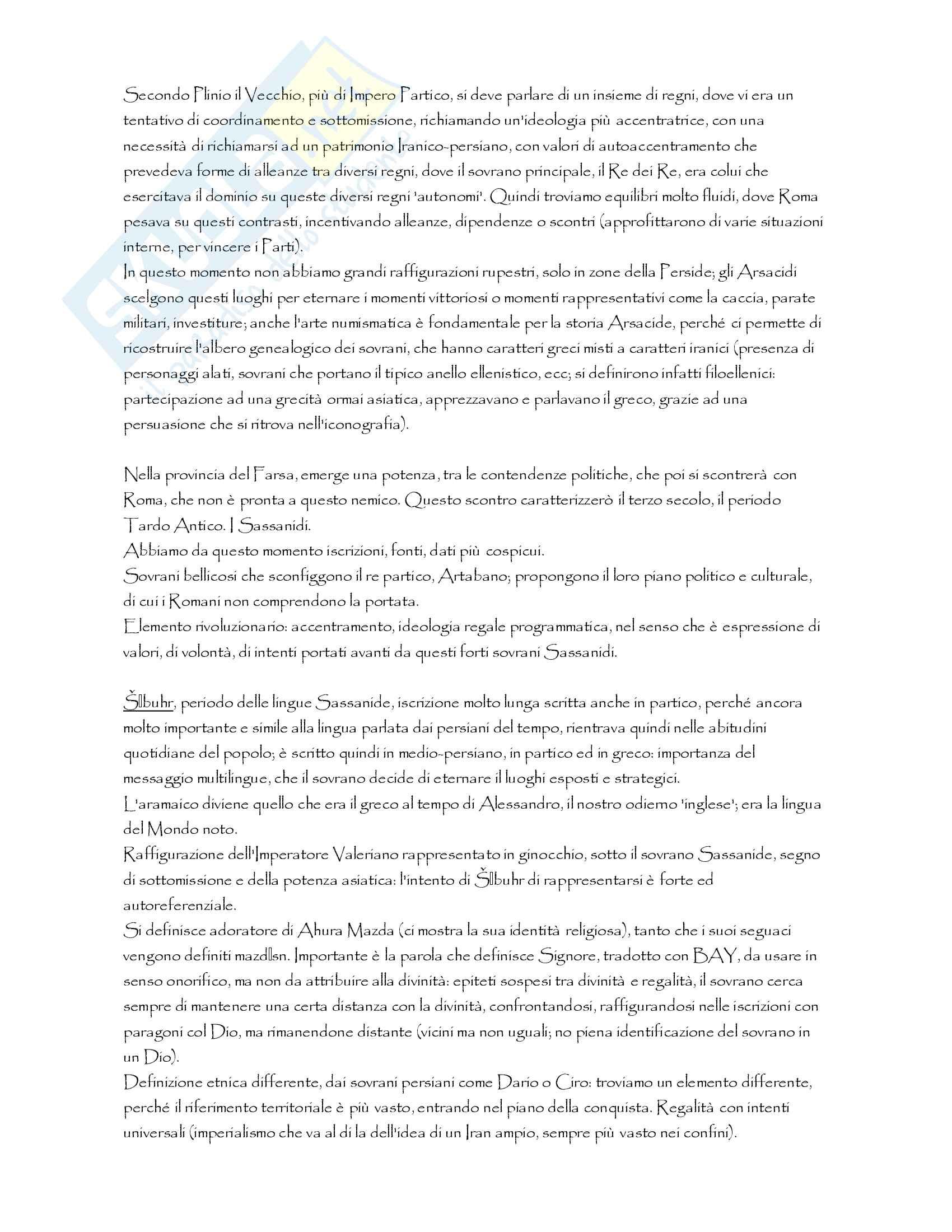 Filologia religiosa dell'Iran Pag. 66