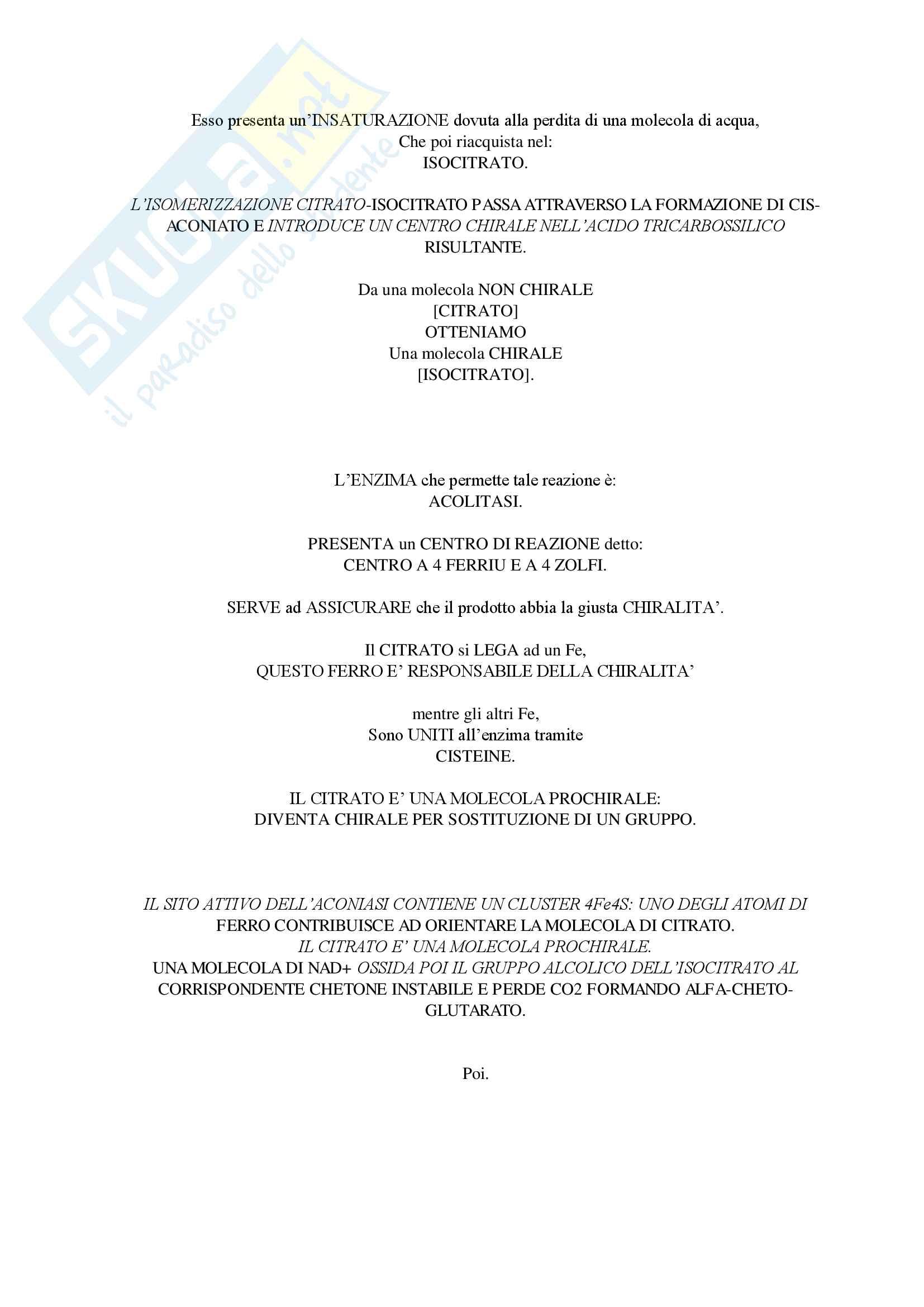 Biochimica Generale Mod.1 (Teoria Secondo Parziale) Pag. 41