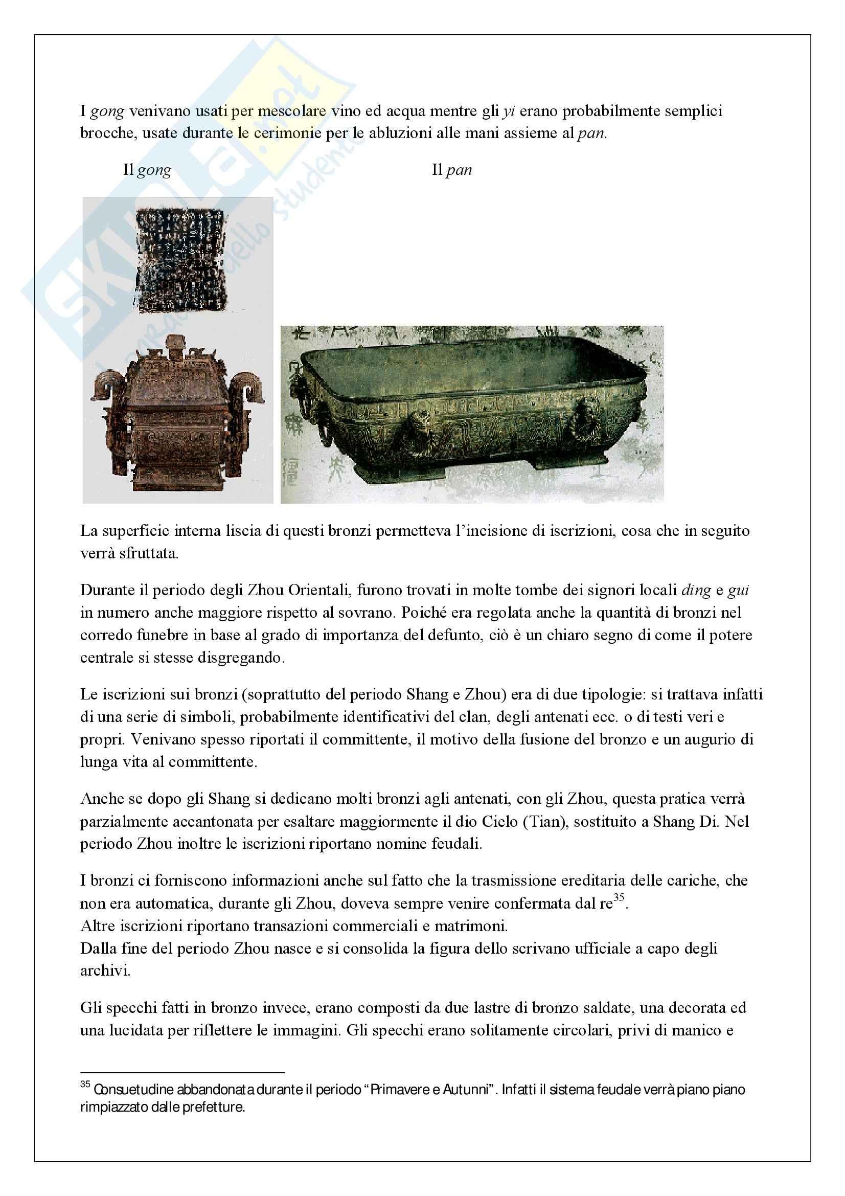 Lineamenti di Storia dell'arte della Cina - Appunti Pag. 16
